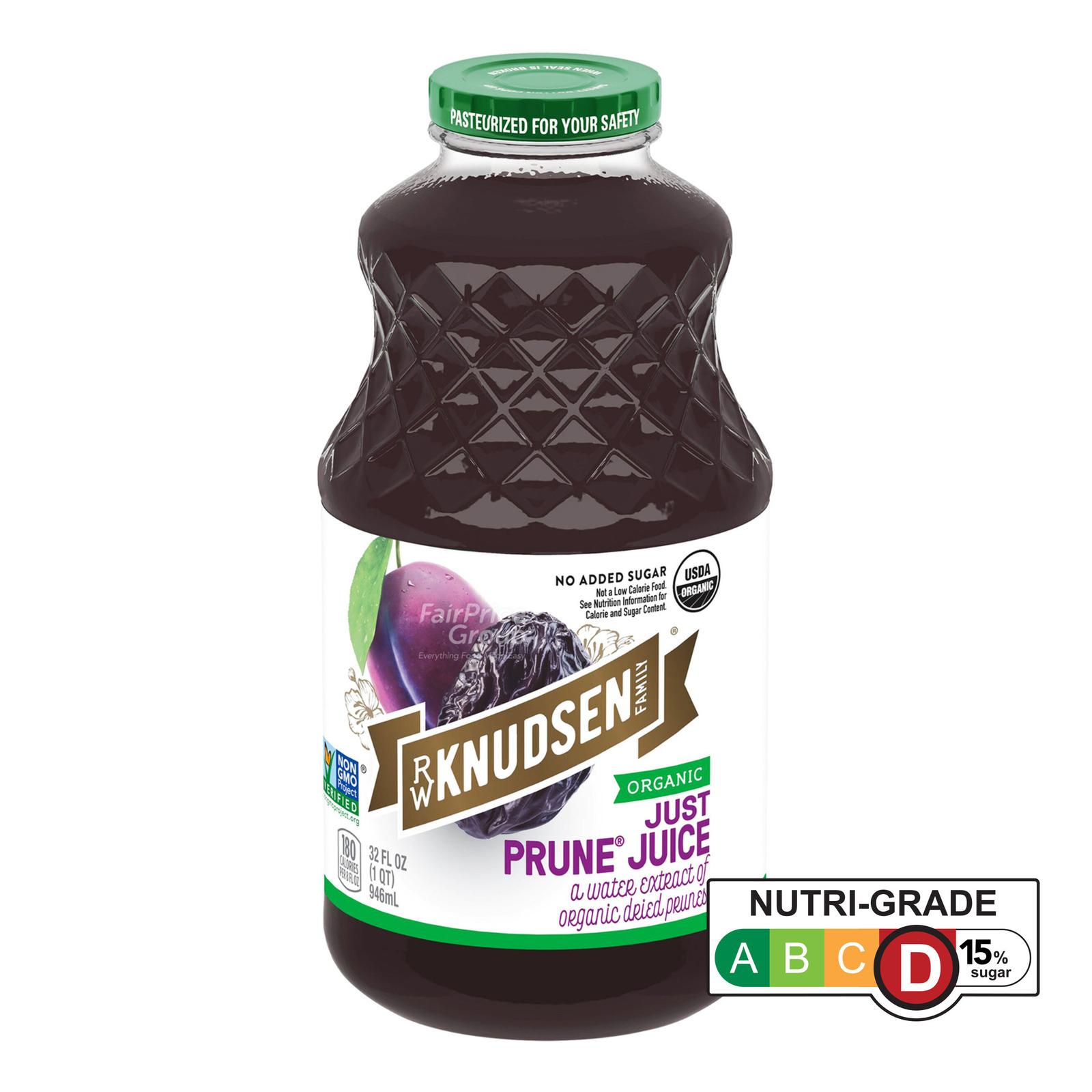 R.W. Knudsen Family Organic 100% Bottle Juice - Just Prune