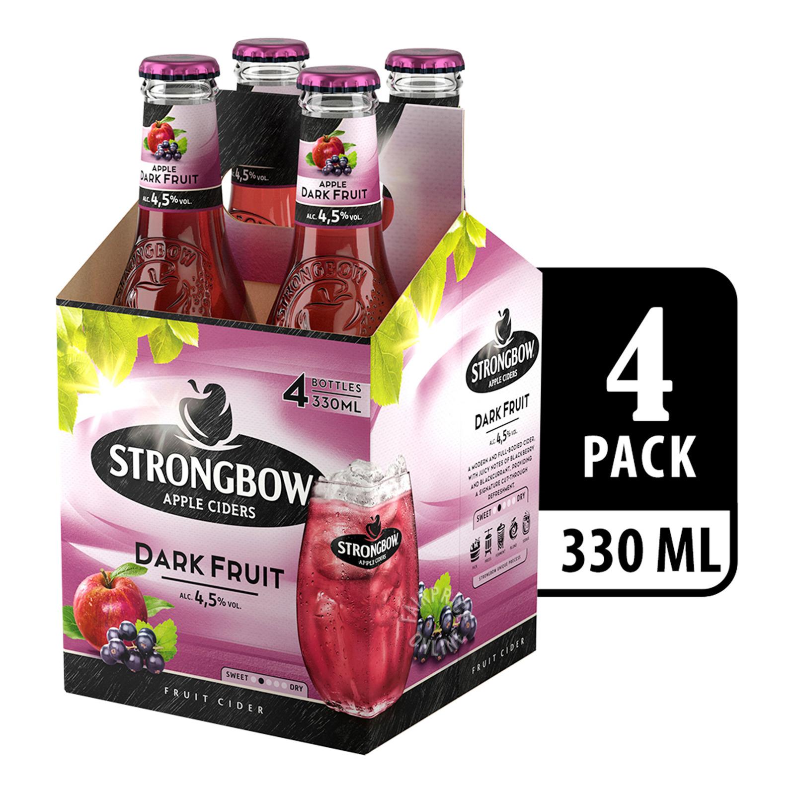 Strongbow Apple Bottle Cider - Dark Fruit