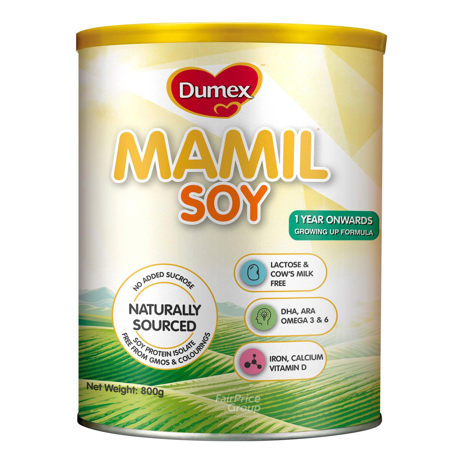 Dumex Mamil Gold Soy Growing Up Milk Formula
