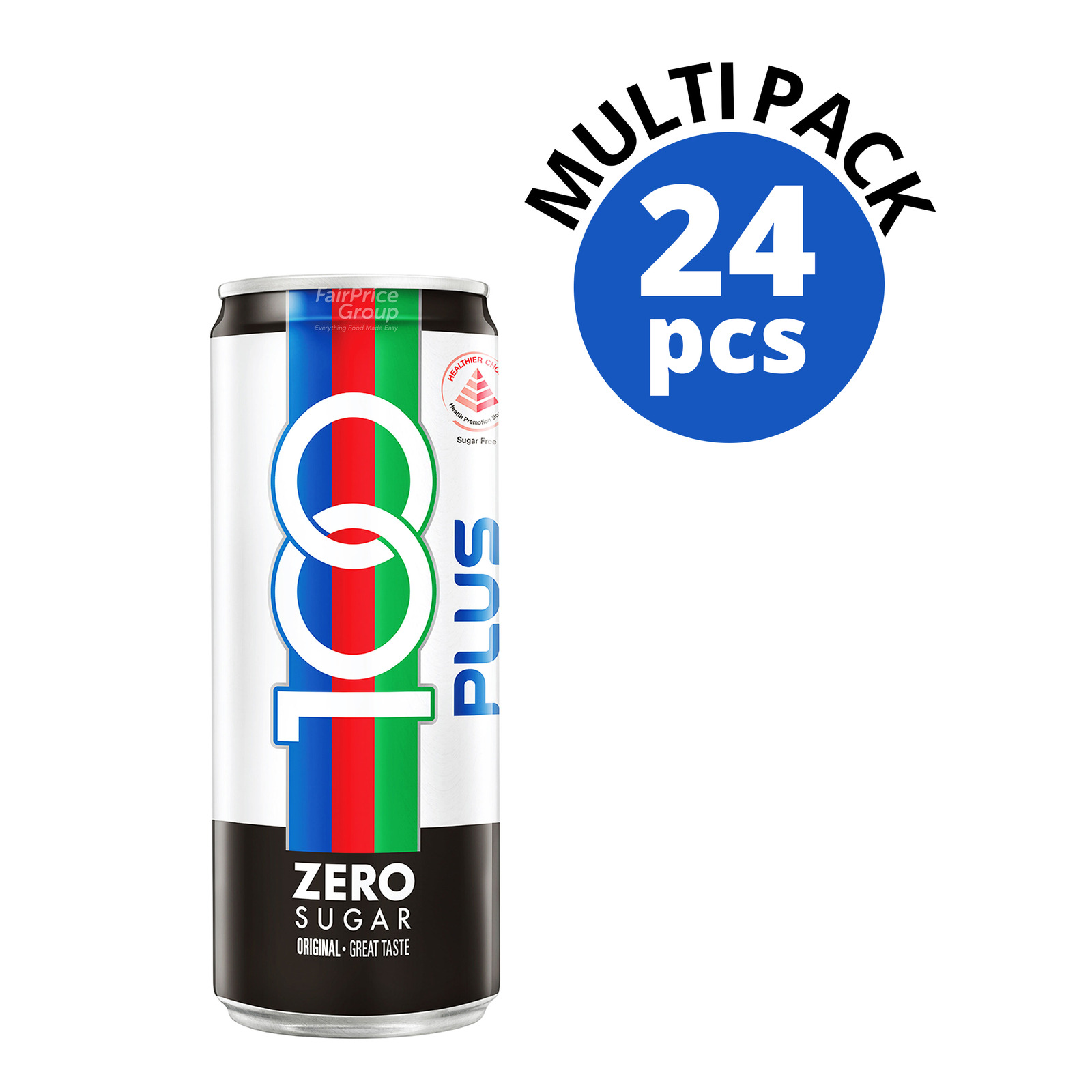 100 Plus Zero Sugar Can Drink - Original