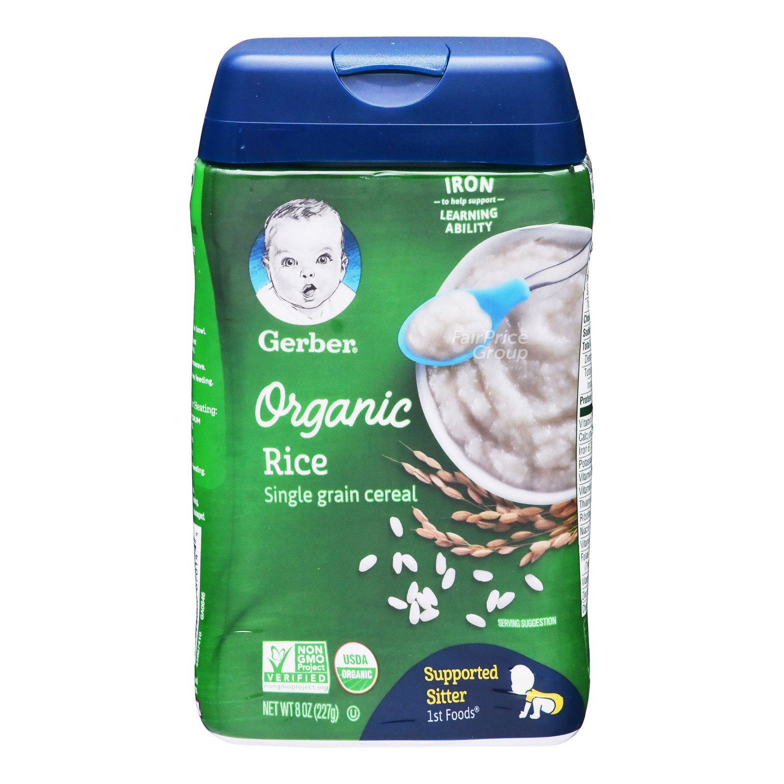 Gerber Organic Baby Cereal - Rice