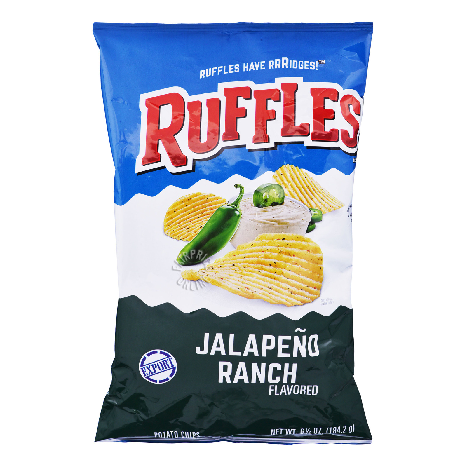 Ruffles Potato Chips - Jalapeno Ranch