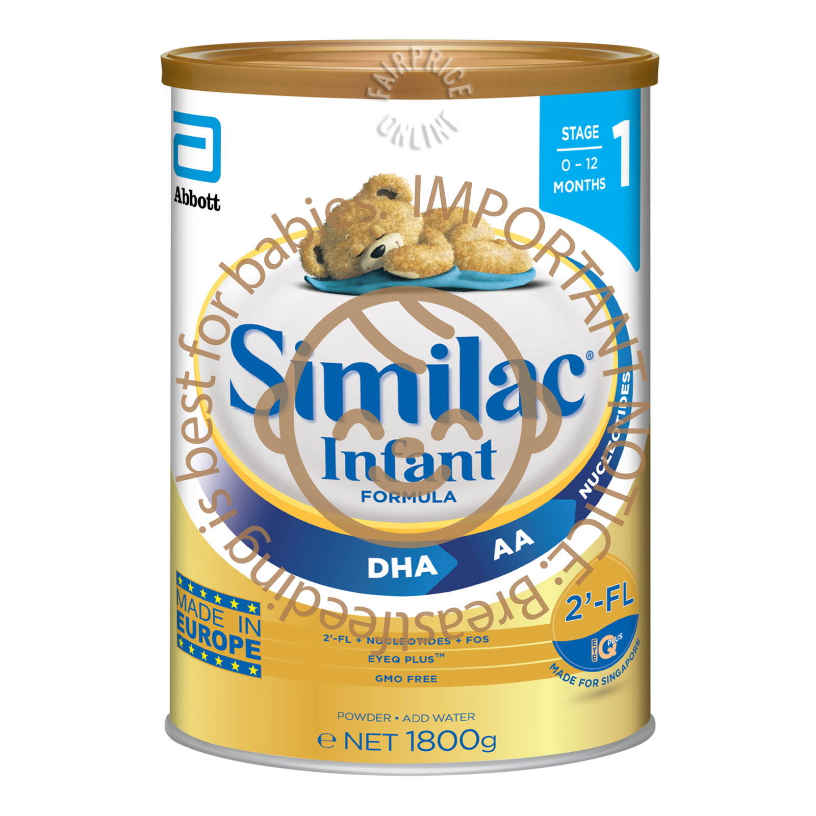 Abbott Similac Infant Milk Formula - Stage 1