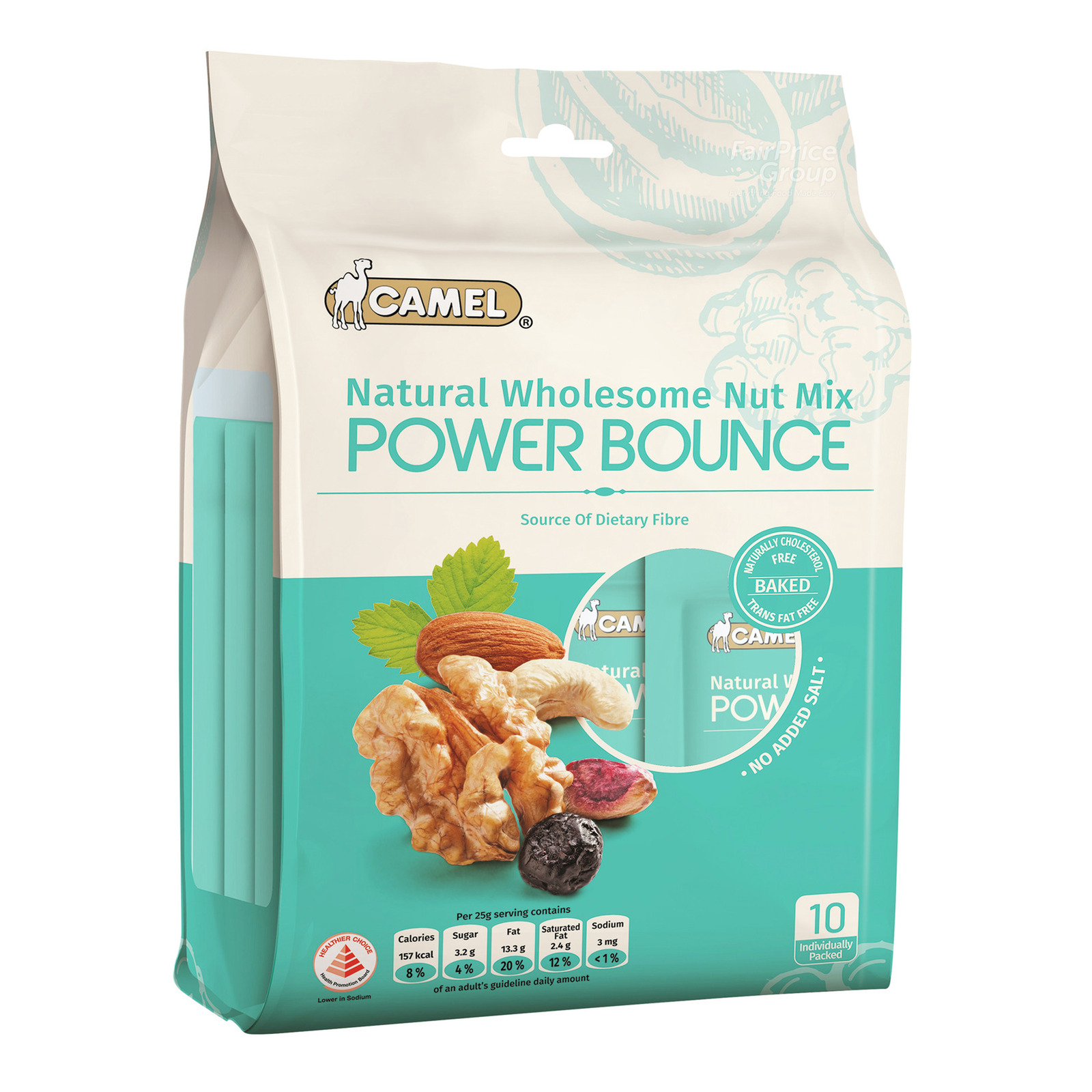 Camel Natural Wholesome Nut Mix - Power Bounce