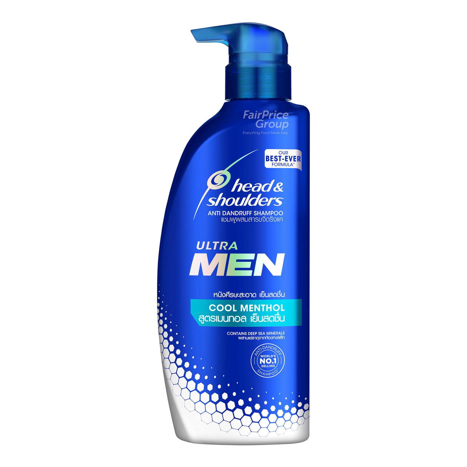 Head & Shoulders Men Ultra Anti-Dandruff Shampoo - Cool Menthol