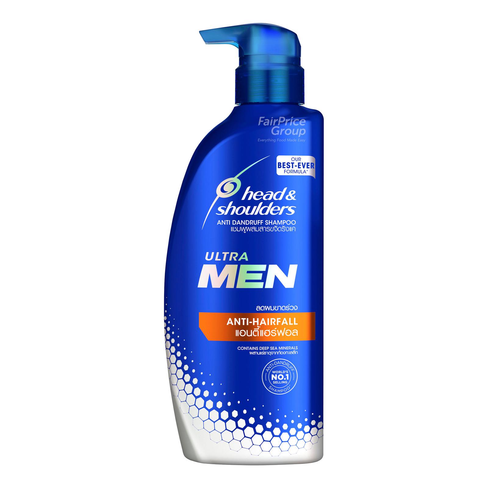 Head & Shoulders Men Ultra Anti-Dandruff Shampoo -Anti-Hairfall