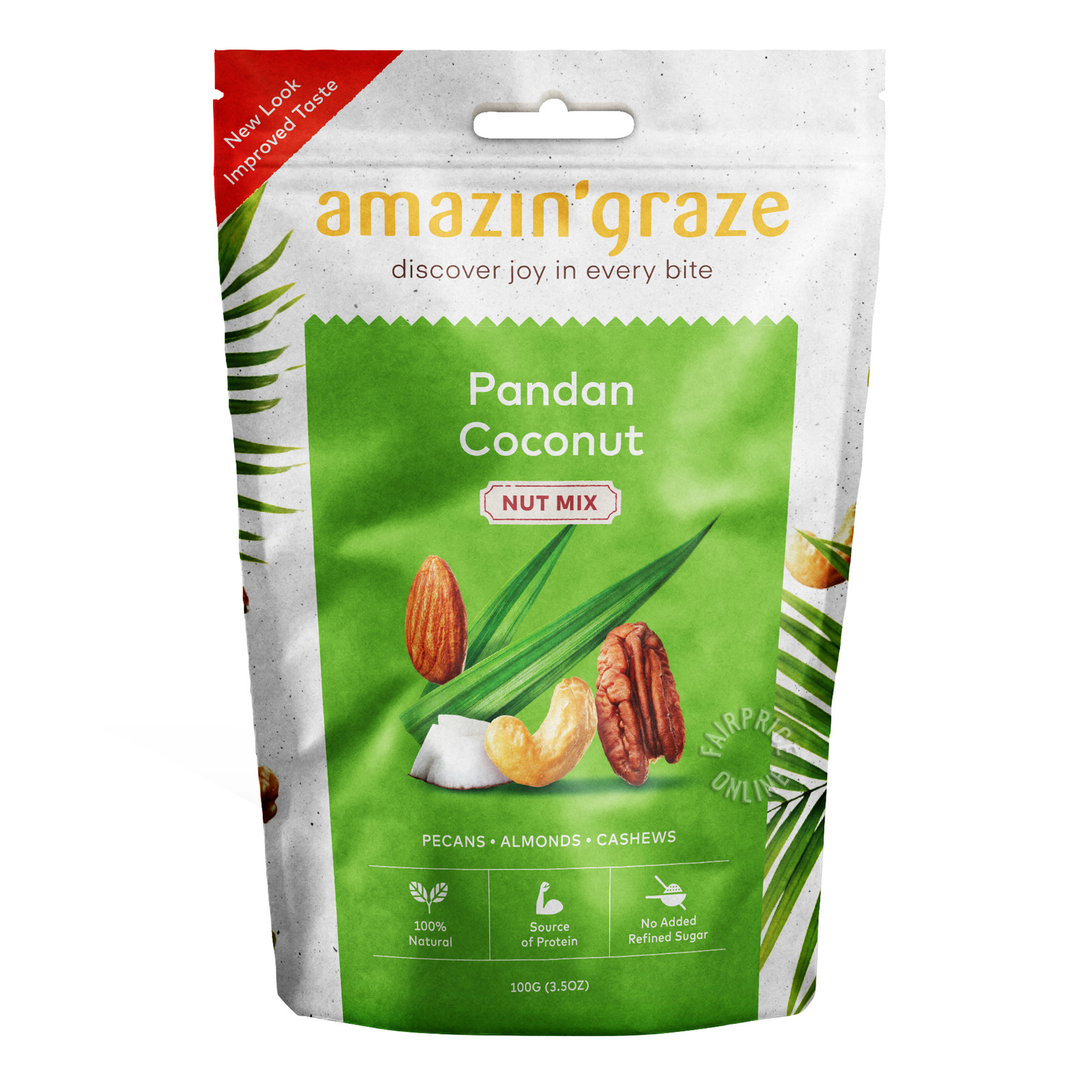 Amazin' Graze Nut Mix - Pandan Coconut