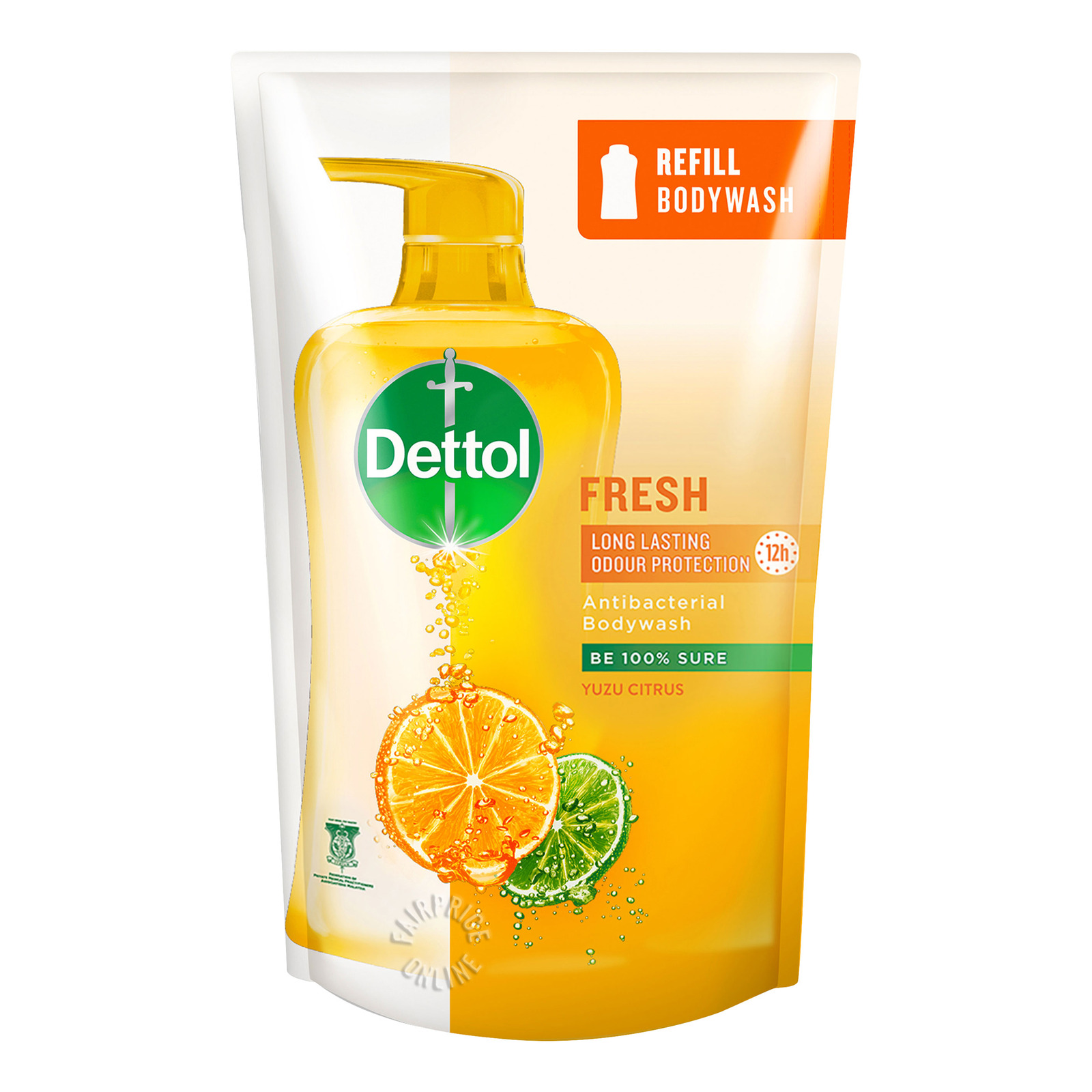 Dettol Anti-Bacterial pH-Balanced Body Wash Refill - Fresh