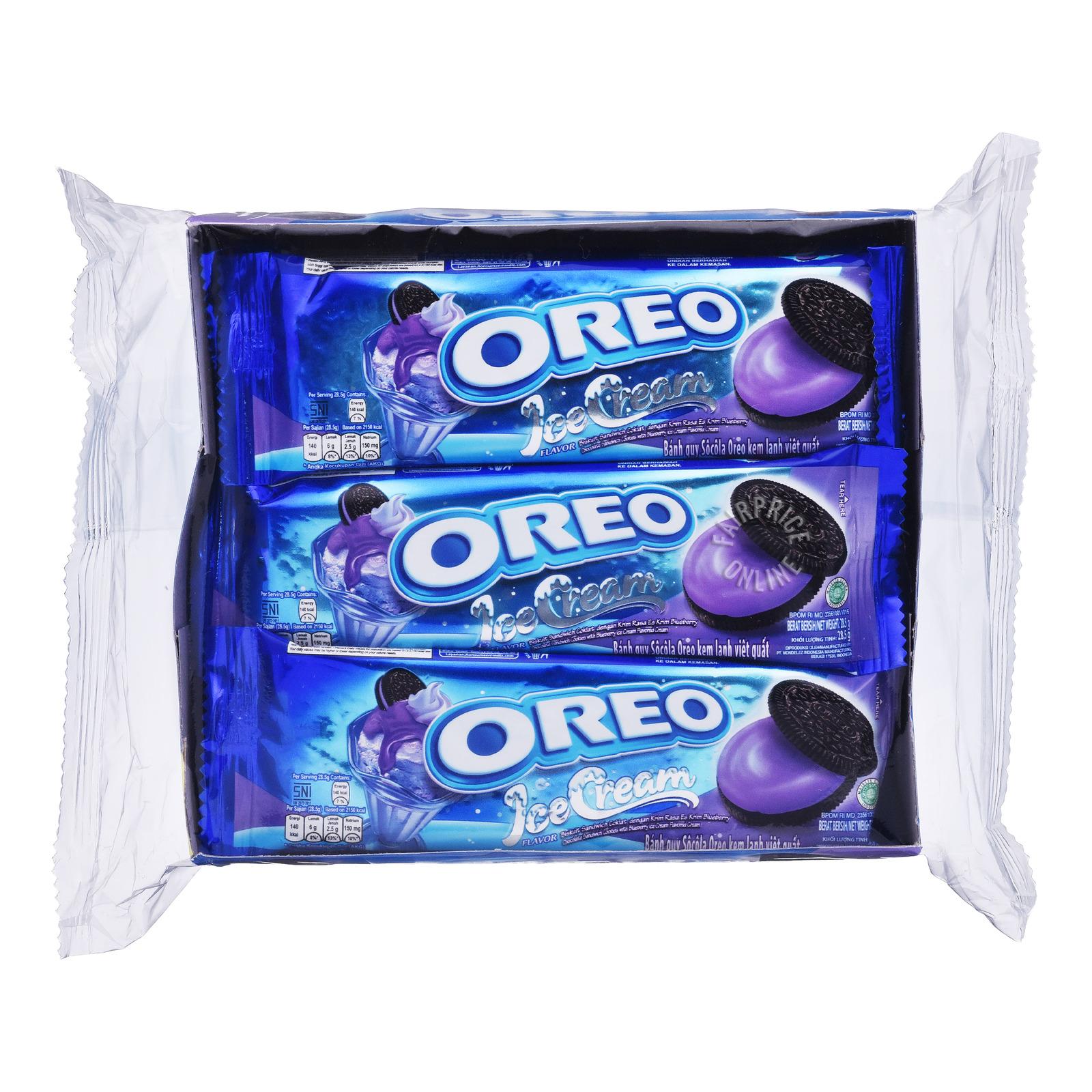 Oreo Cookie Sandwich - Blueberry