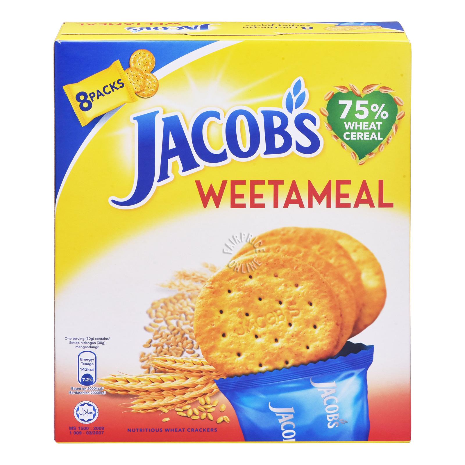 Jacob's Cream Crackers - Weetameal
