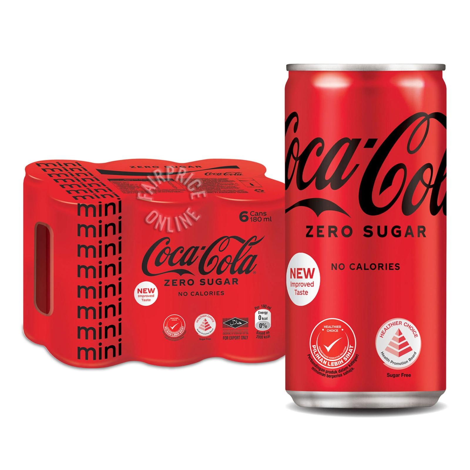 Coca-Cola Mini Can Drink - No Sugar