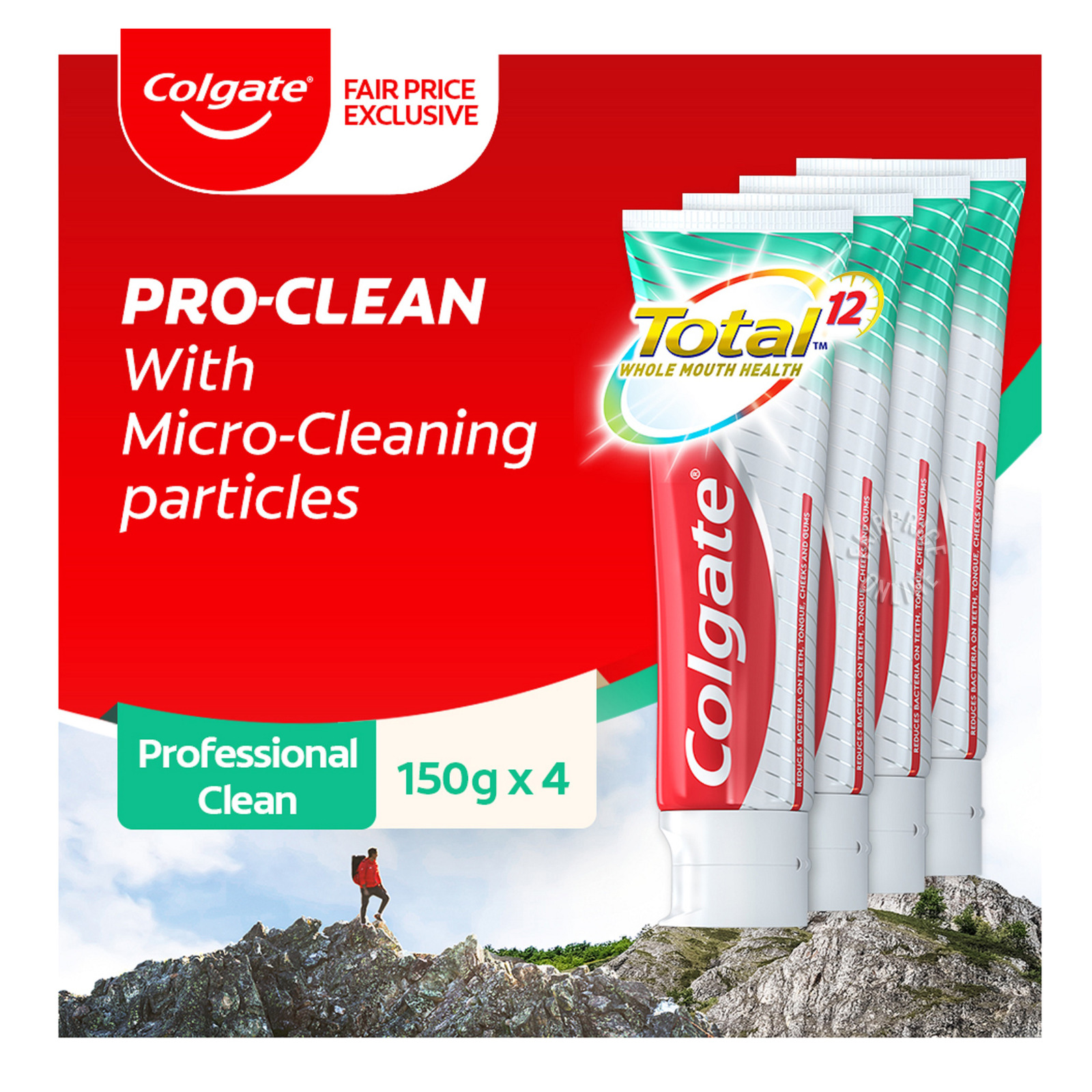 Colgate Total Toothgel - Professional Clean