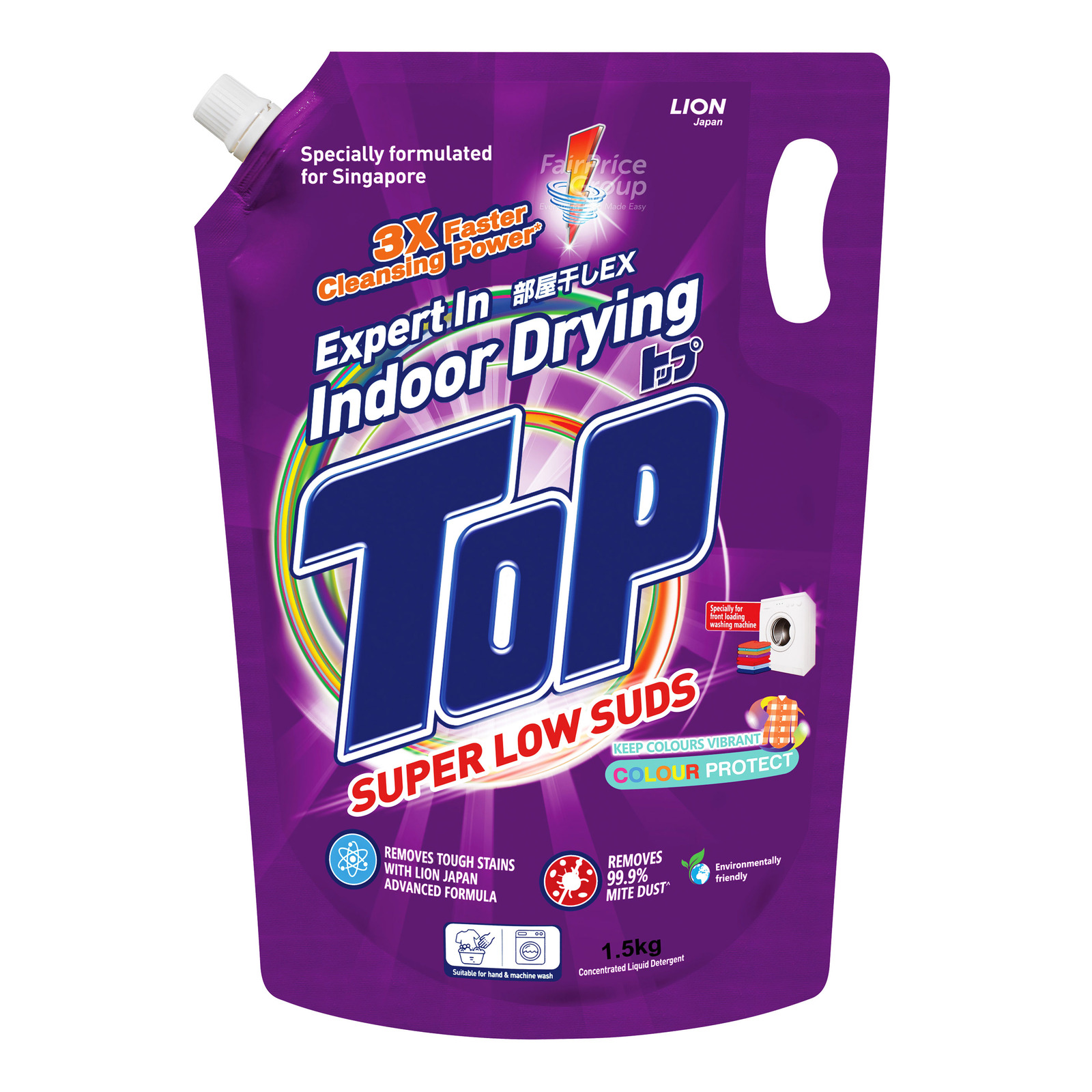 Top Concentrated Liquid Detergent Refill - Super Low Suds