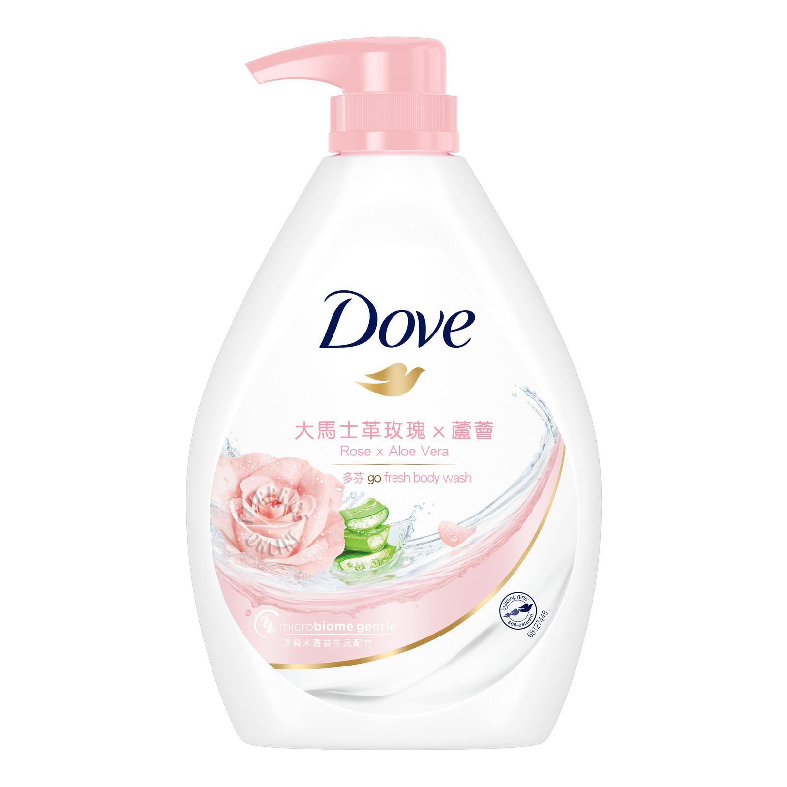 Dove Go Fresh Paraben-Free Body Wash - Rose Pomegranate