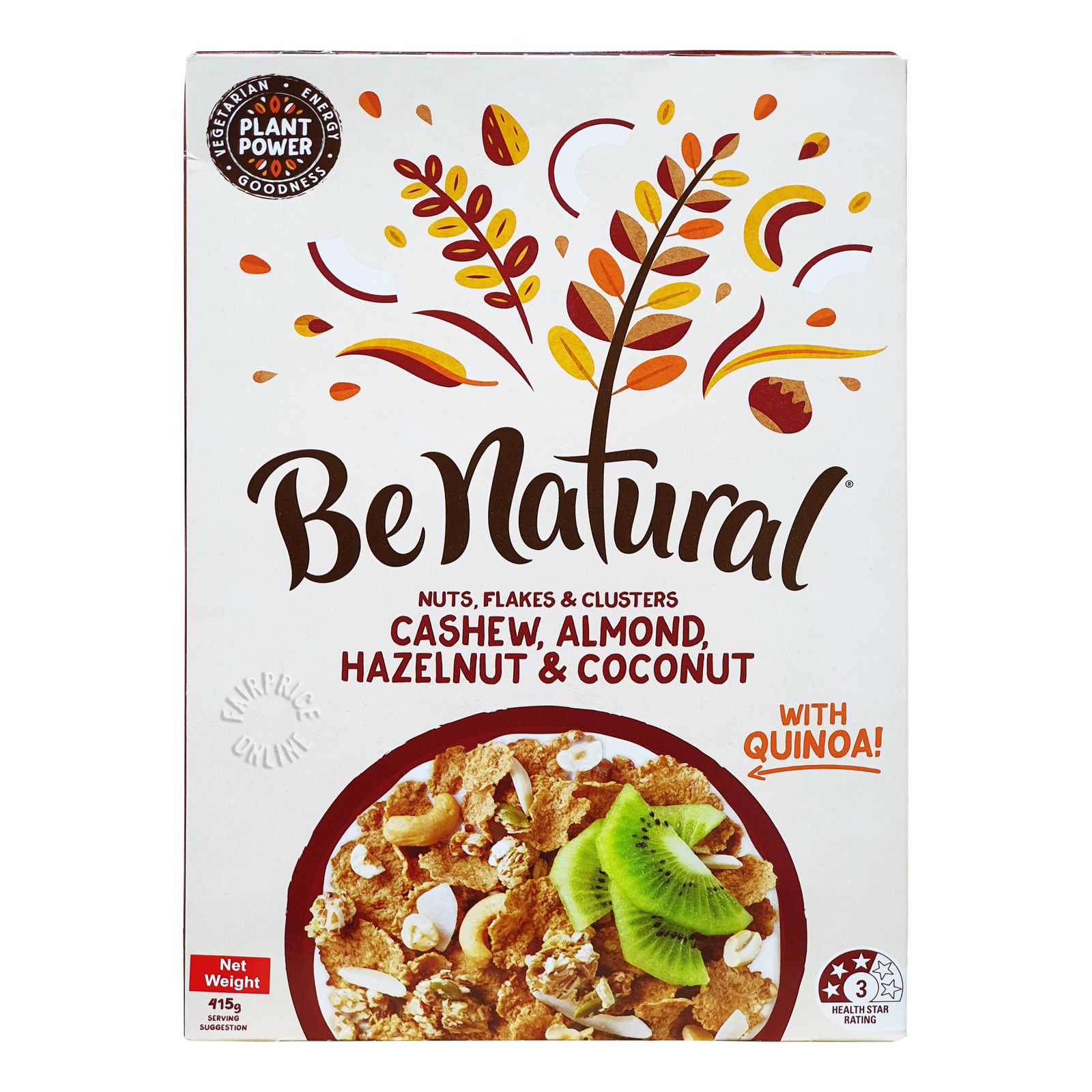 Be Natural Cereal - Cashew, Almond, Hazelnut & Coconut