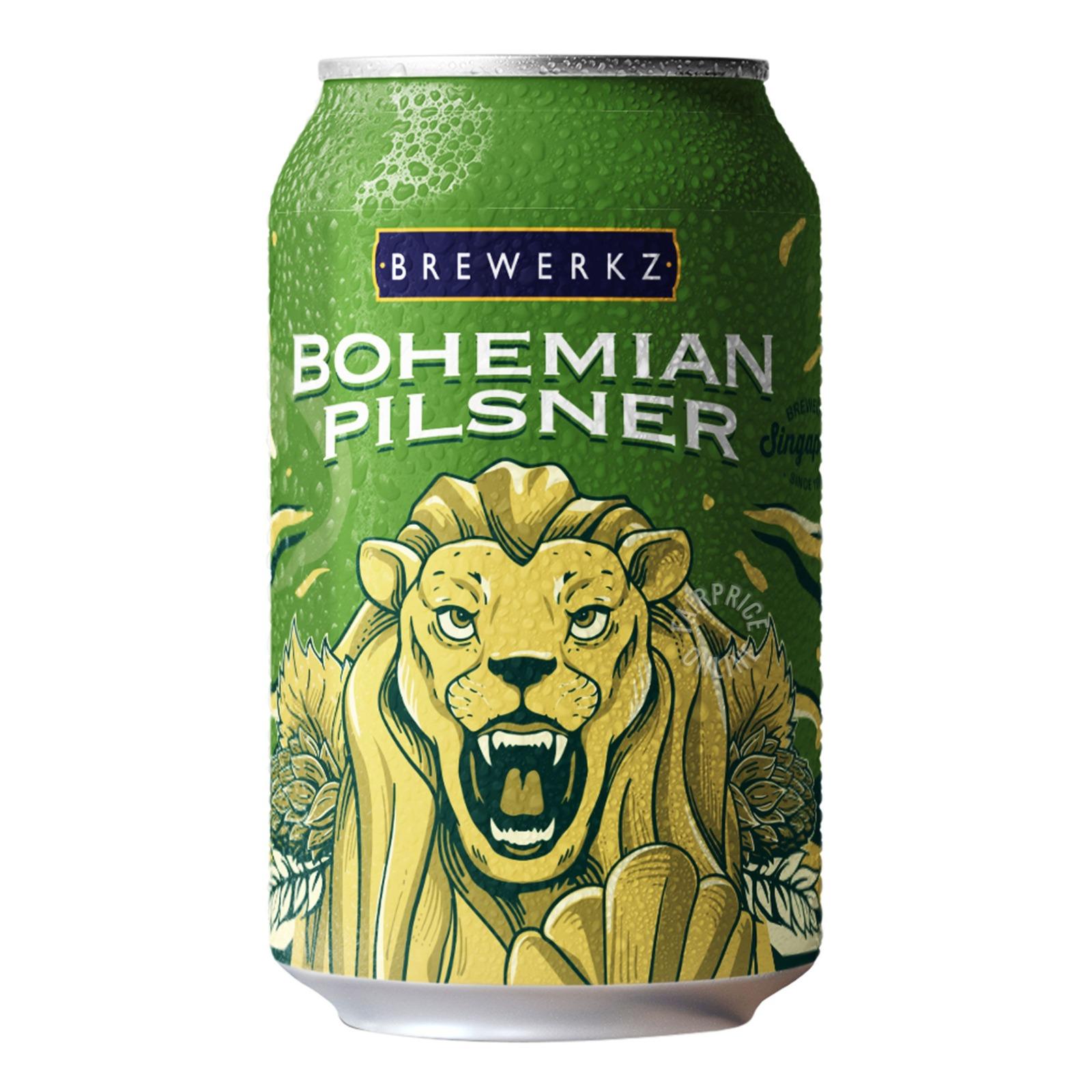 Brewerkz Can Beer - Bohemian Pilsner