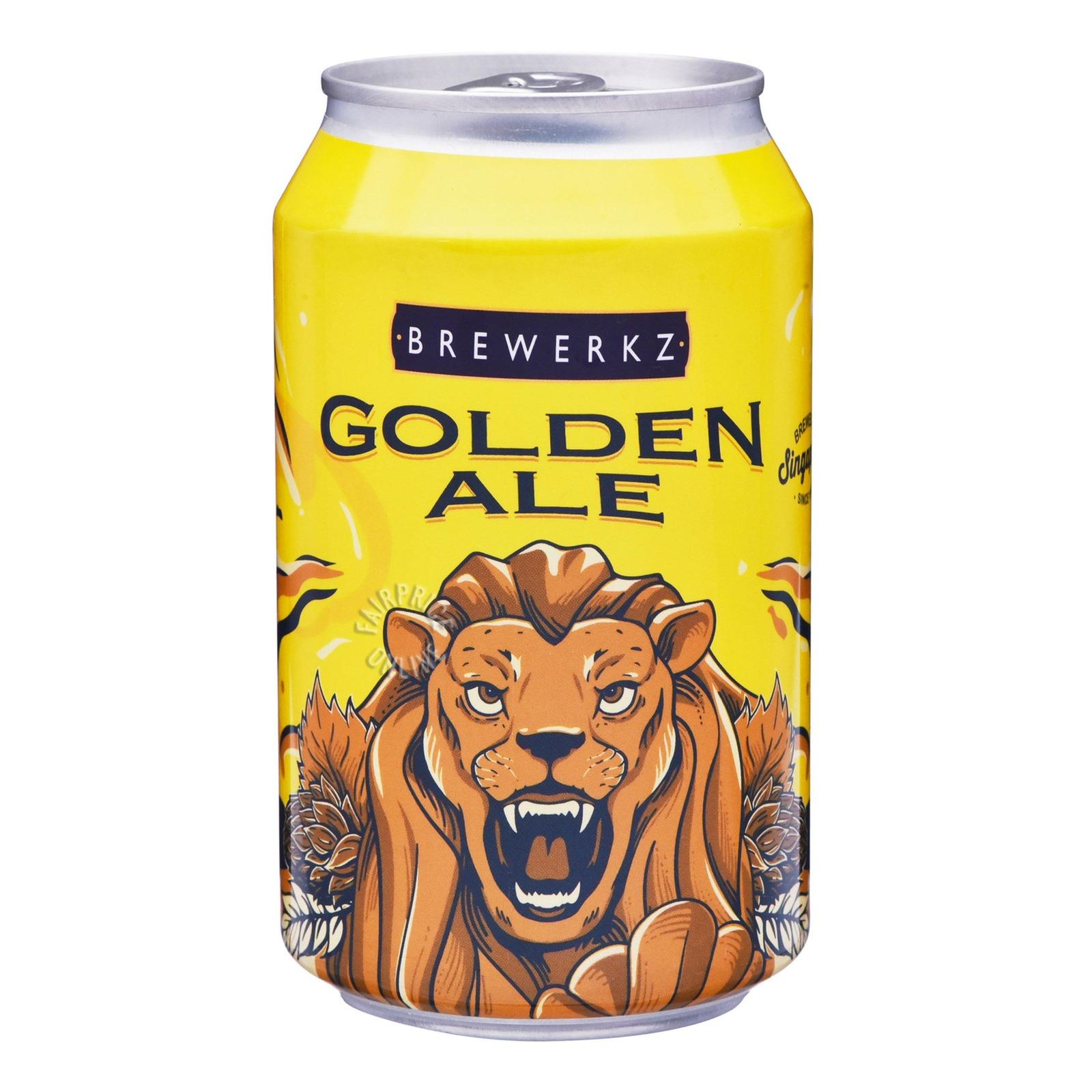 Brewerkz Can Beer - Golden Ale