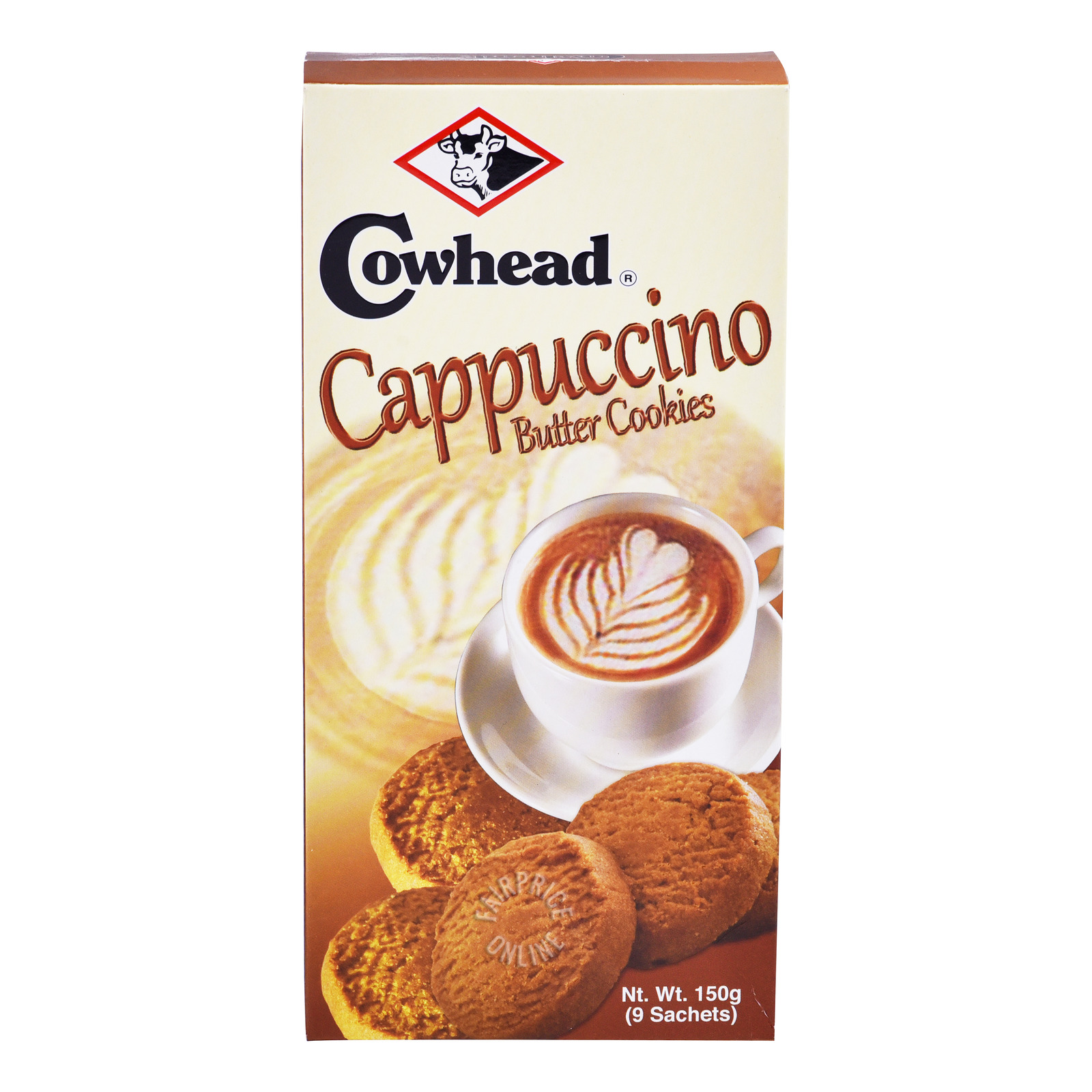 Cowhead Butter Cookies - Cappucino