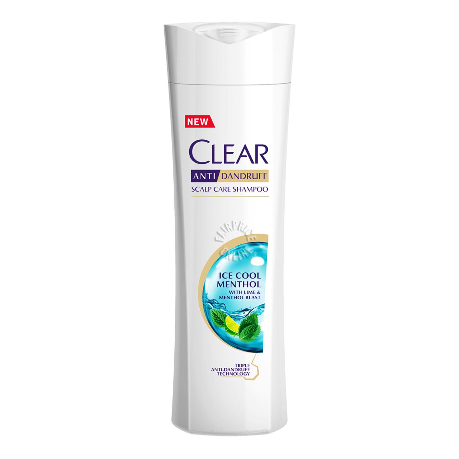 Clear Anti-Dandruff Scalp Care Shampoo - Ice Cool Menthol