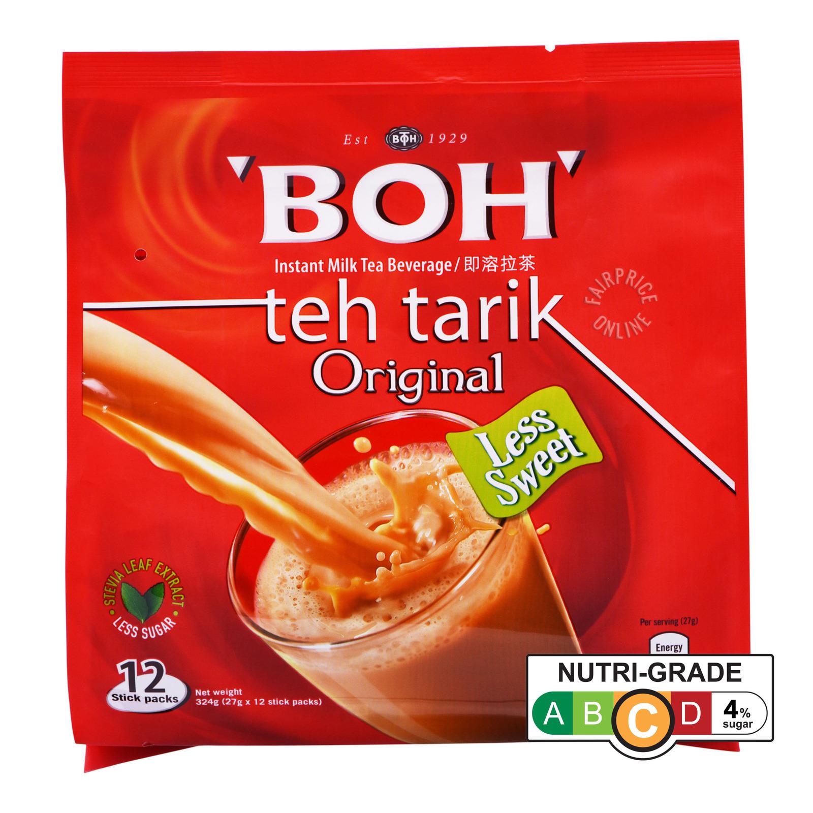 BOH Teh Tarik Instant Milk Tea Beverage - Original