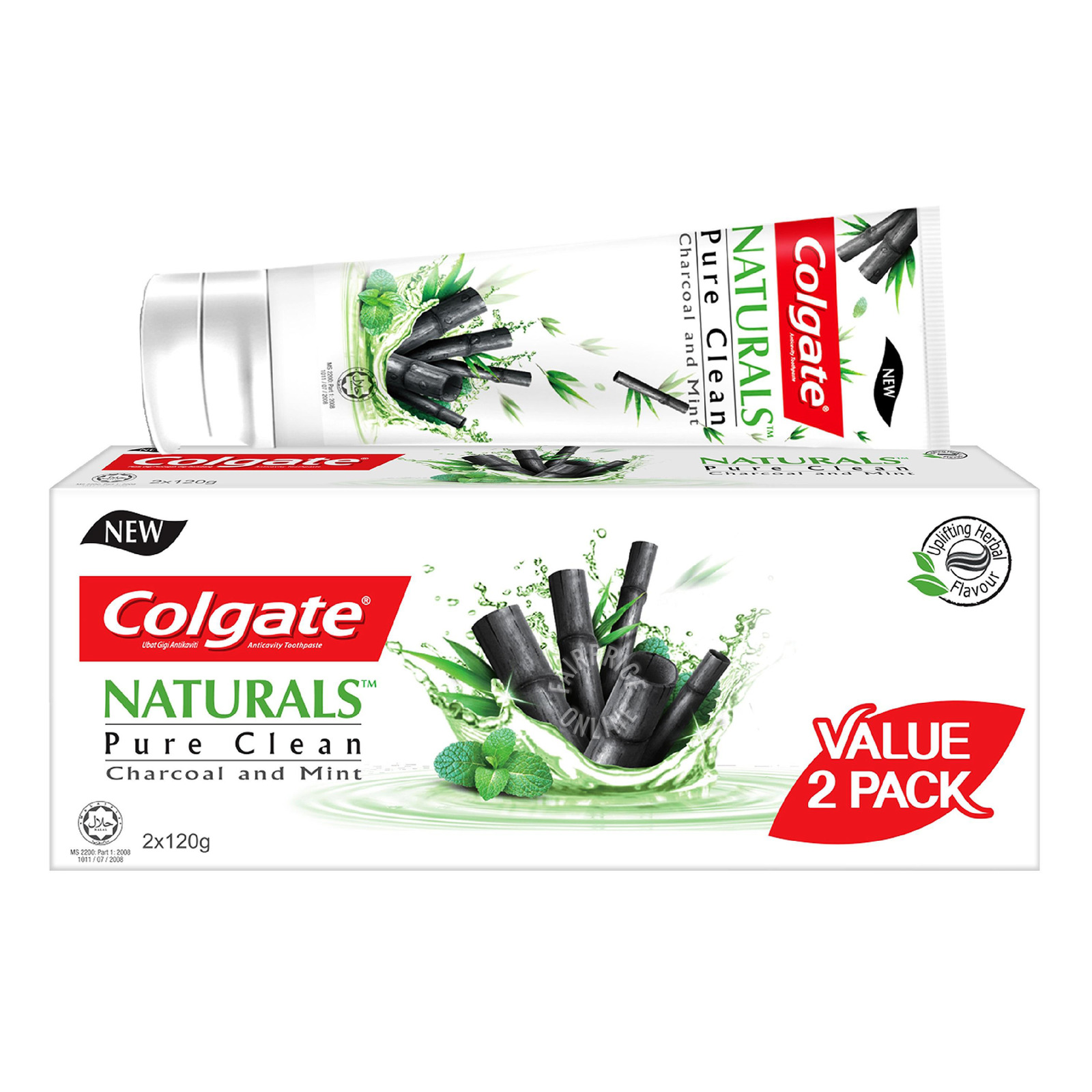 Colgate Naturals Toothpaste - Pure Clean