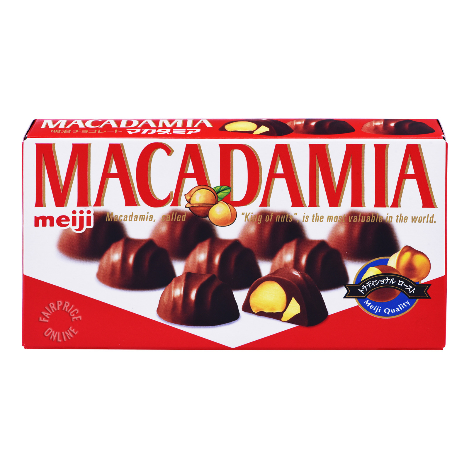 Meiji Chocolate - Macadamia