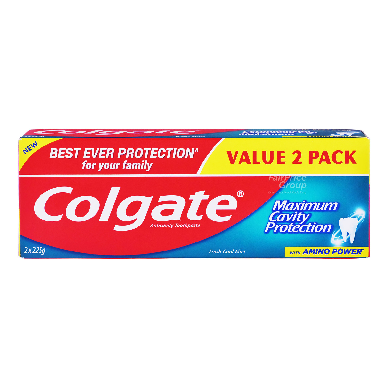 Colgate Maximum Cavity Protection Toothpaste - FreshCoolMint