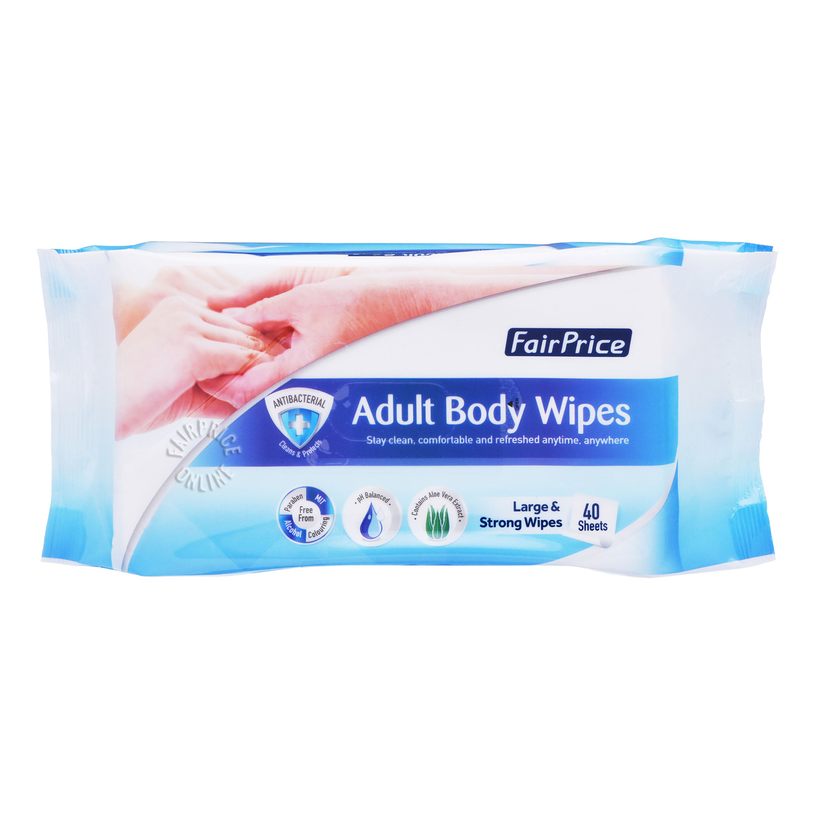 FairPrice Adult Body Wipes