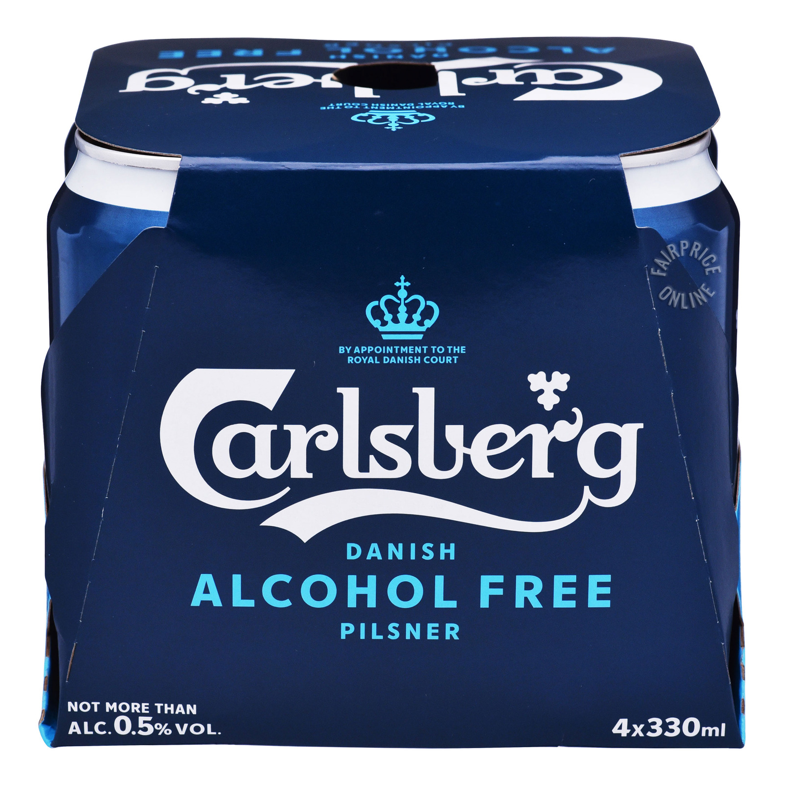Carlsberg Danish Can Beer - Pilsner (Alcohol Free)