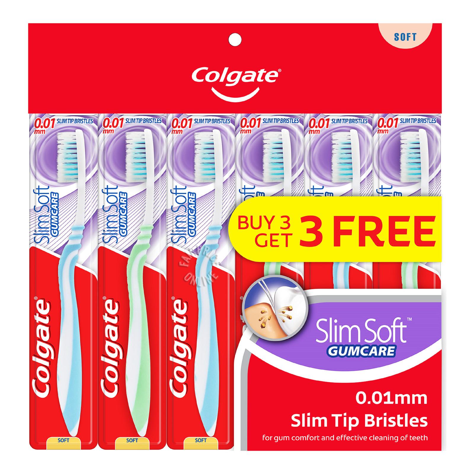 Colgate Slim Soft Toothbrush - Gumcare