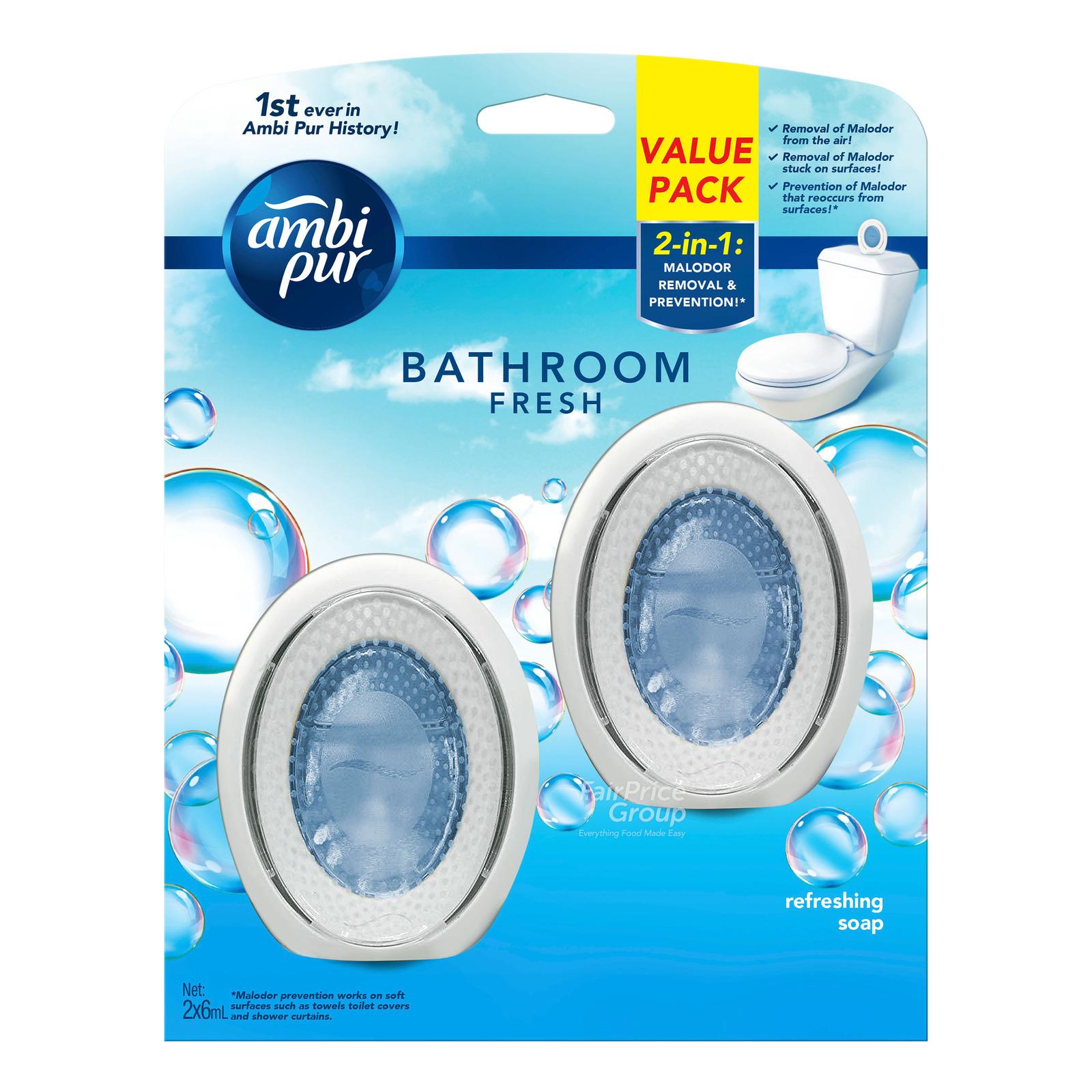 Ambi Pur Bathroom Fresh Freshener - Refreshing Soap