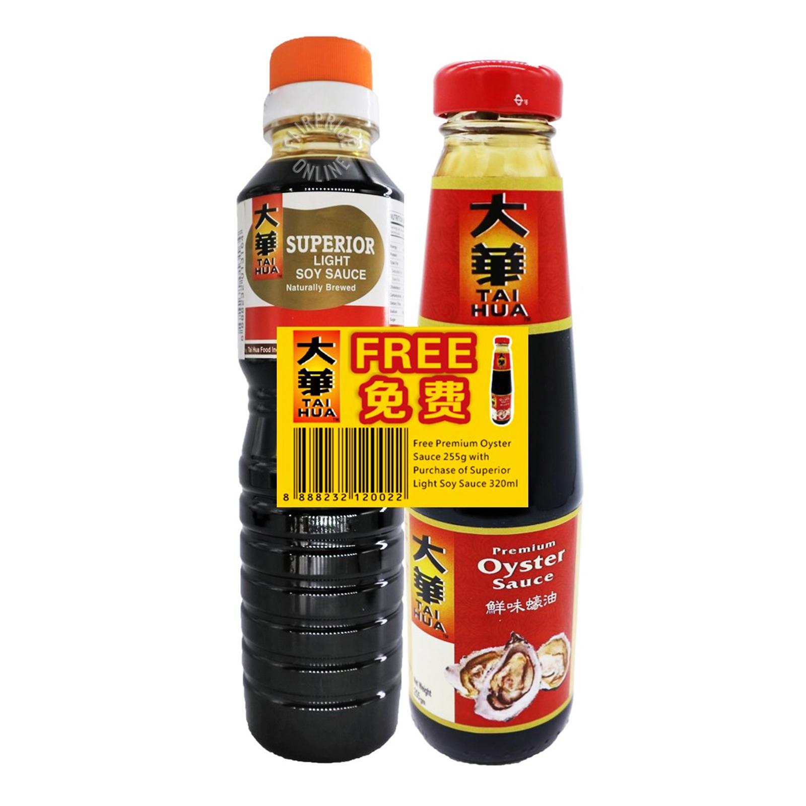 Tai Hua Superior Soya Sauce - Light + Oyster Sauce