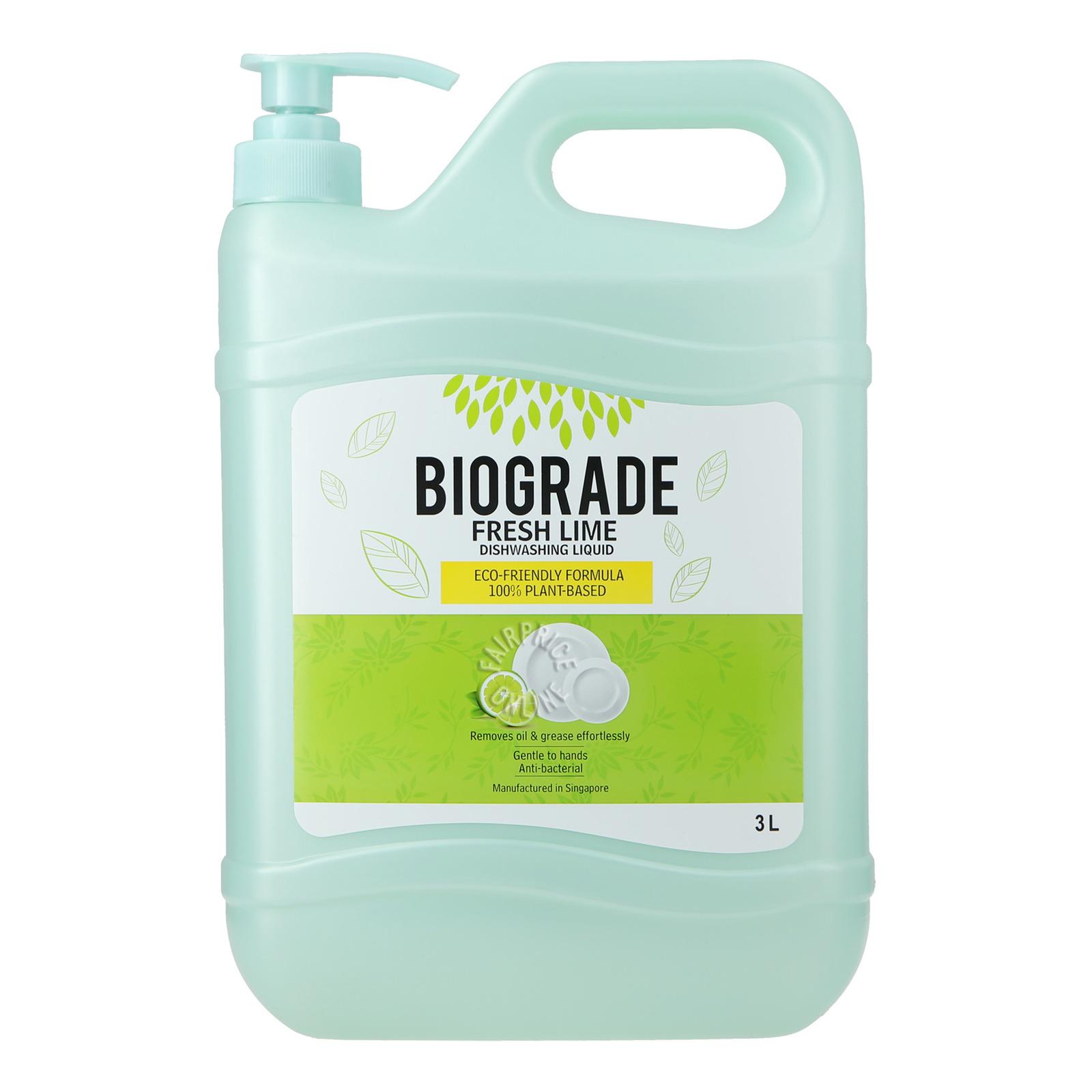 Biograde Dishwashing Liquid - Fresh Lime