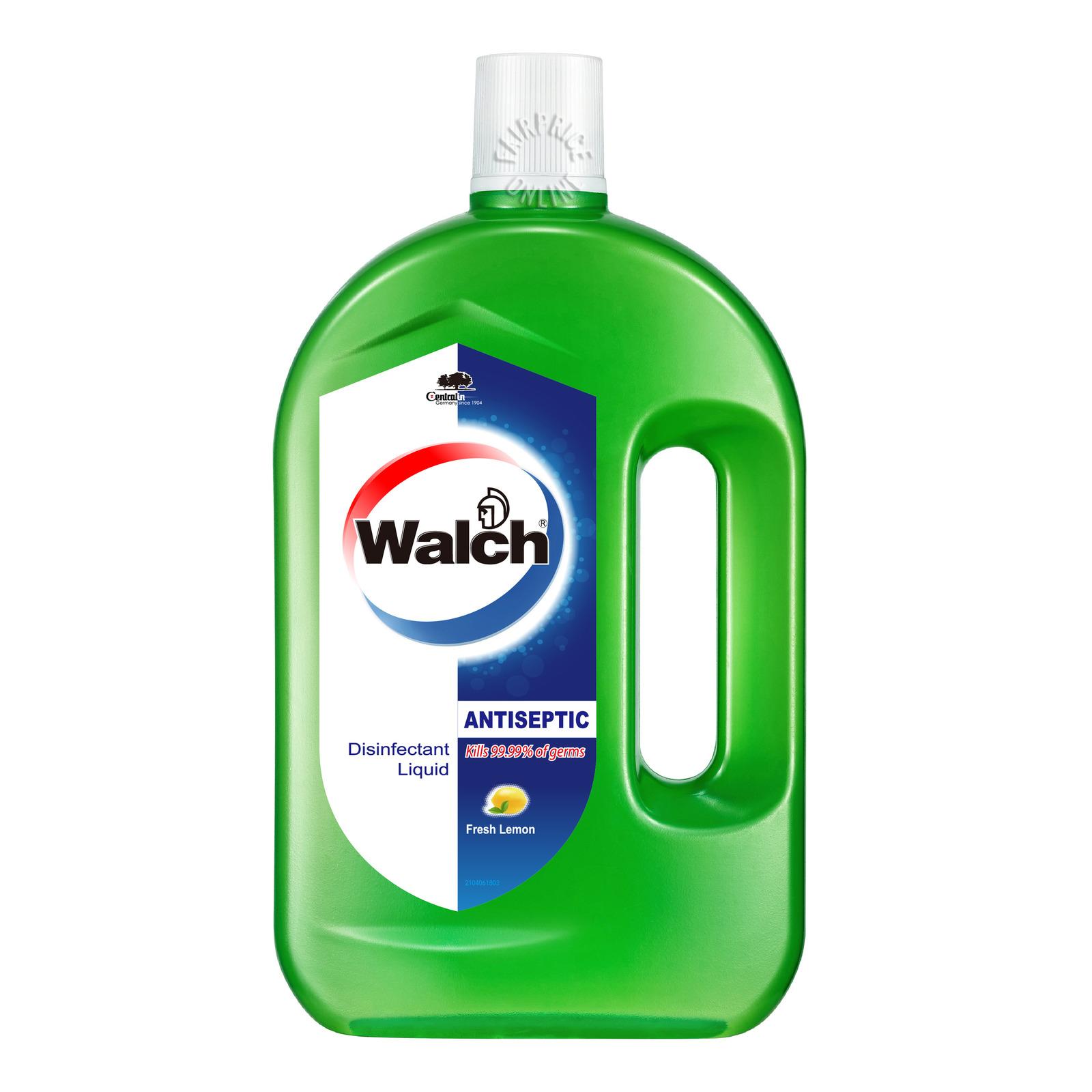 Walch Antiseptic Disinfectant Liquid - Fresh Lemon