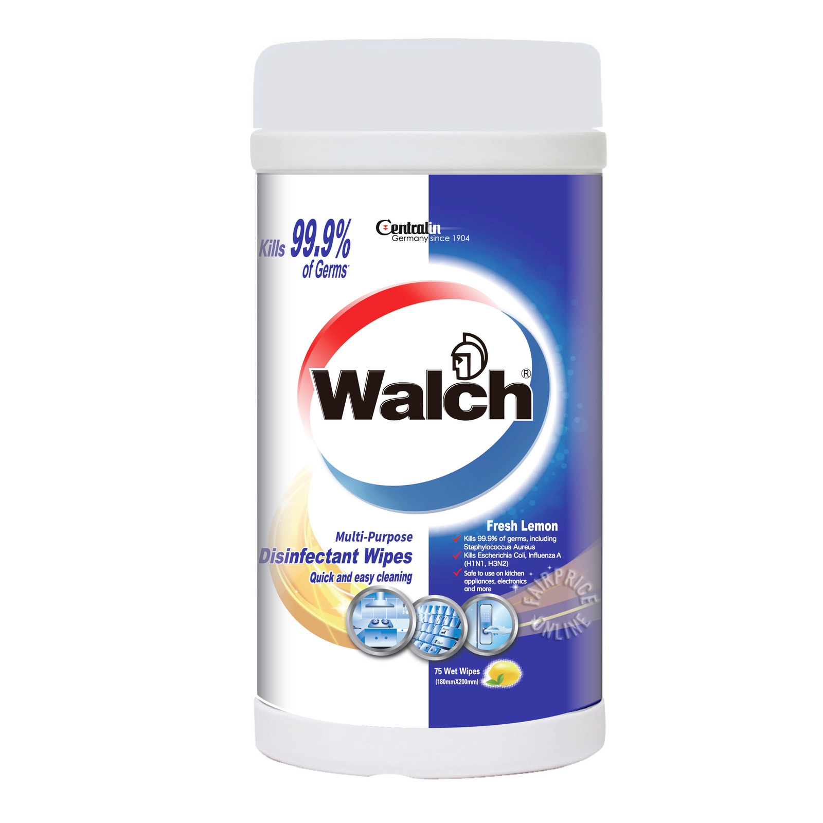 Walch Multi Purpose Disinfectant Wet Wipes