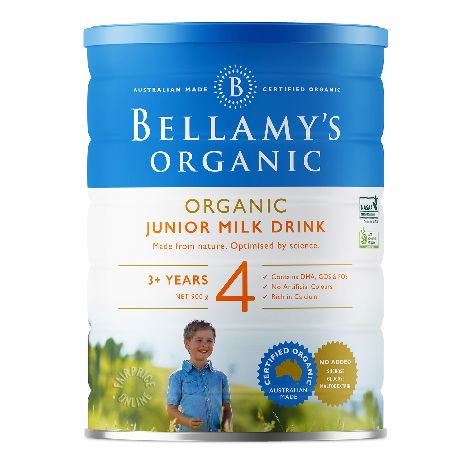 Bellamy's Organic Junior Milk Drink Formula - Step 4