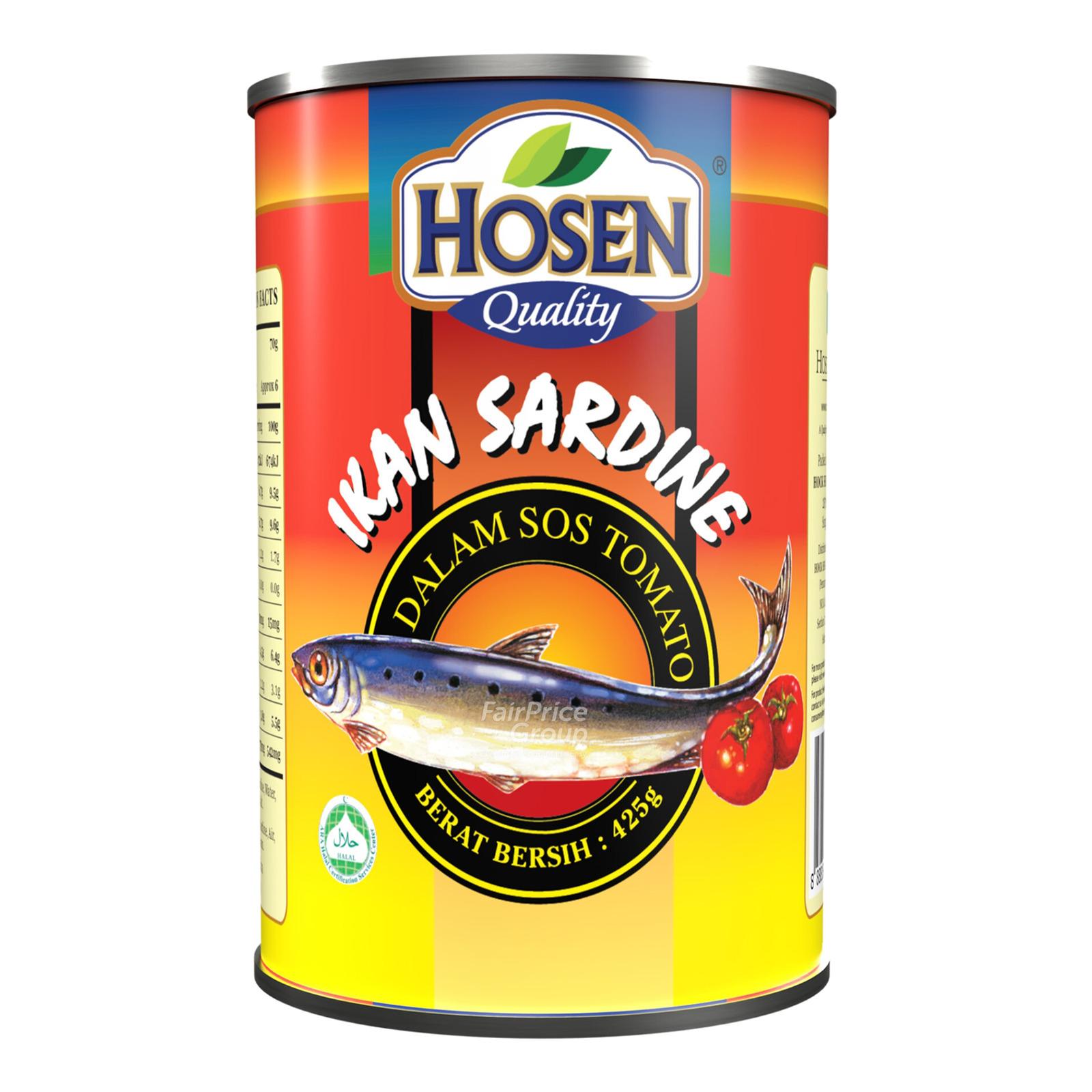 H/Family Sardine IN Tomato Sauce 425G