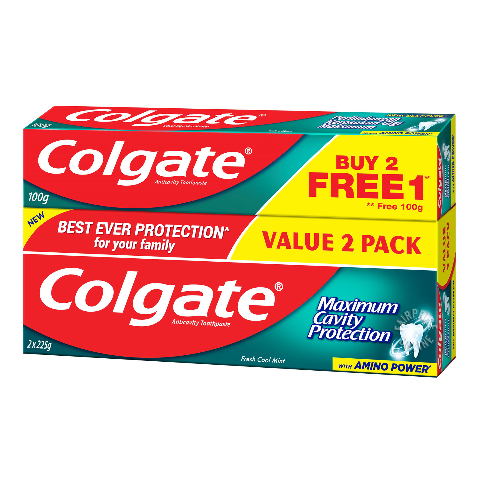 Colgate Maximum Cavity ProtectToothpaste-FreshCoolMint