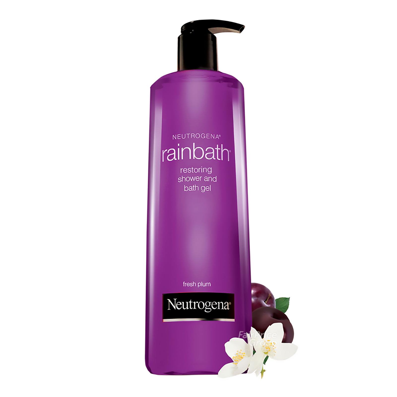 Neutrogena Restroing Shower & Bath Gel - Fresh Plum