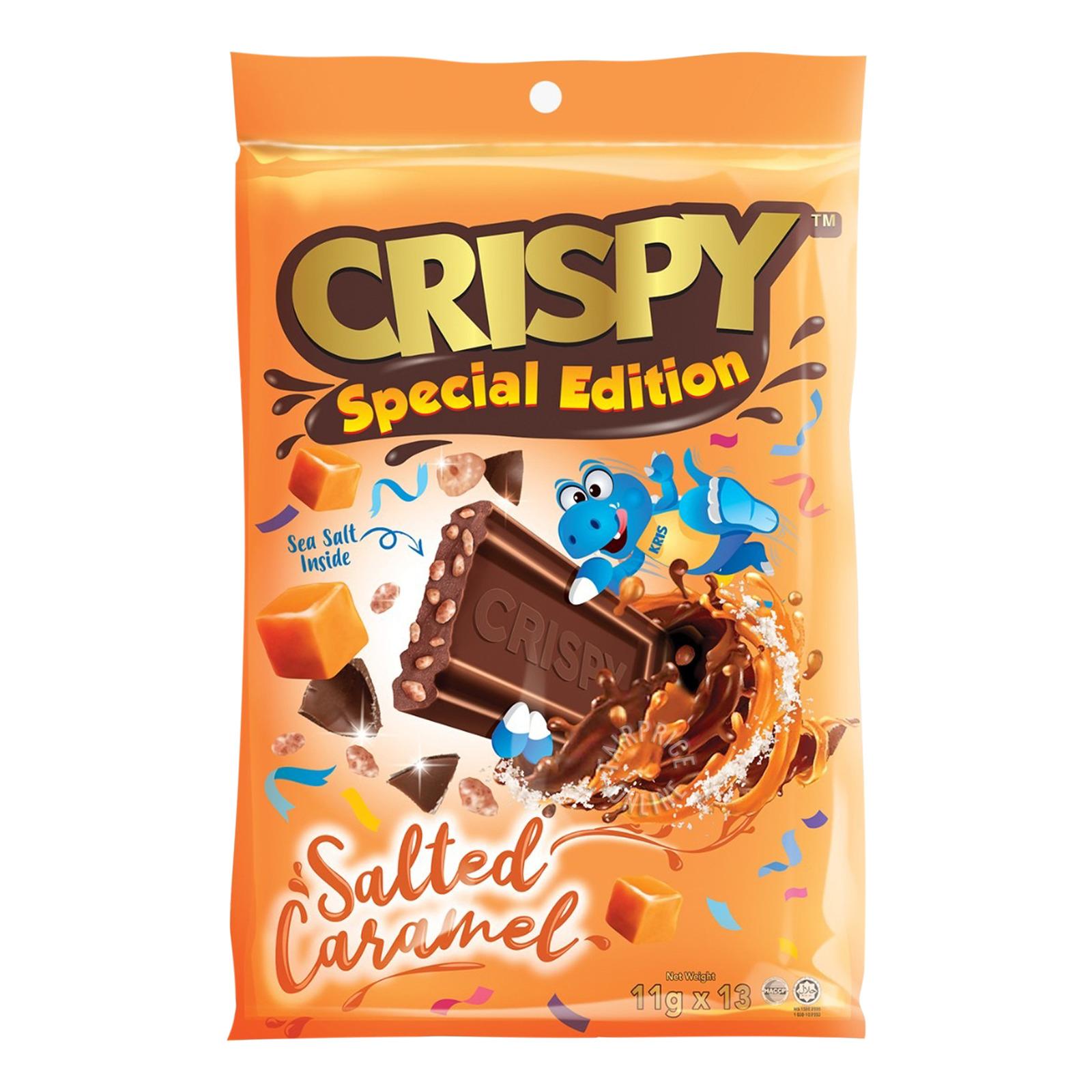 Crispy Chocolatey Rice Cereal - Sea Salt Caramel