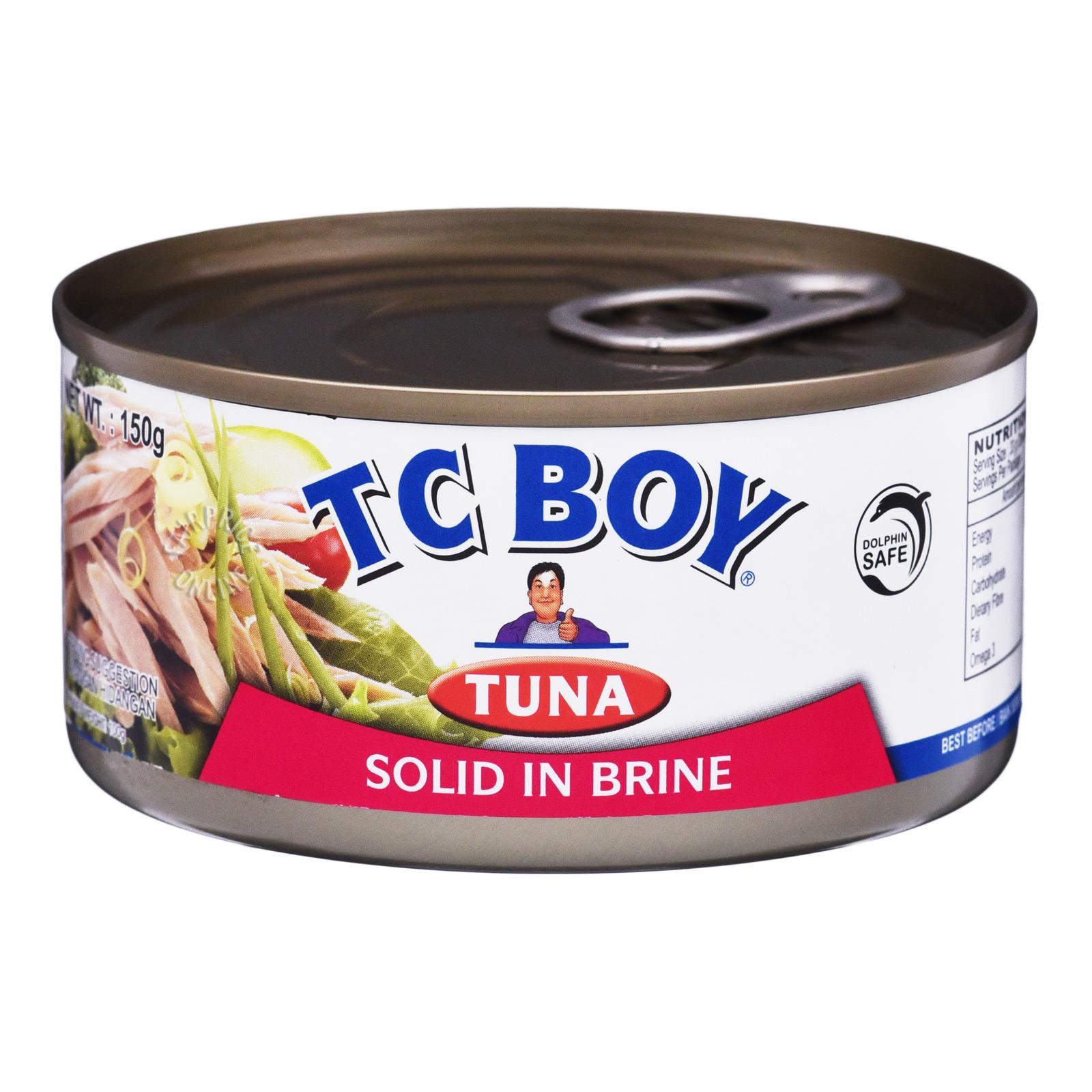 TC Boy Tuna Solid in Brine