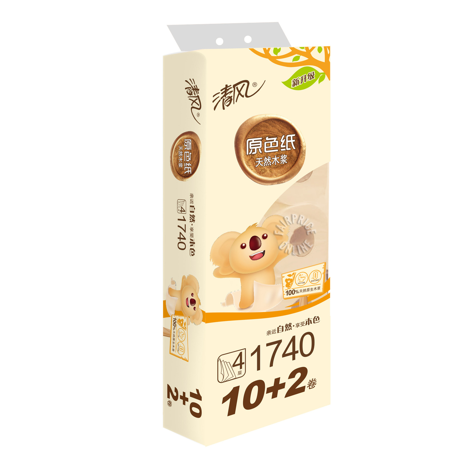 Qing Feng Toilet Tissue - 4 Ply