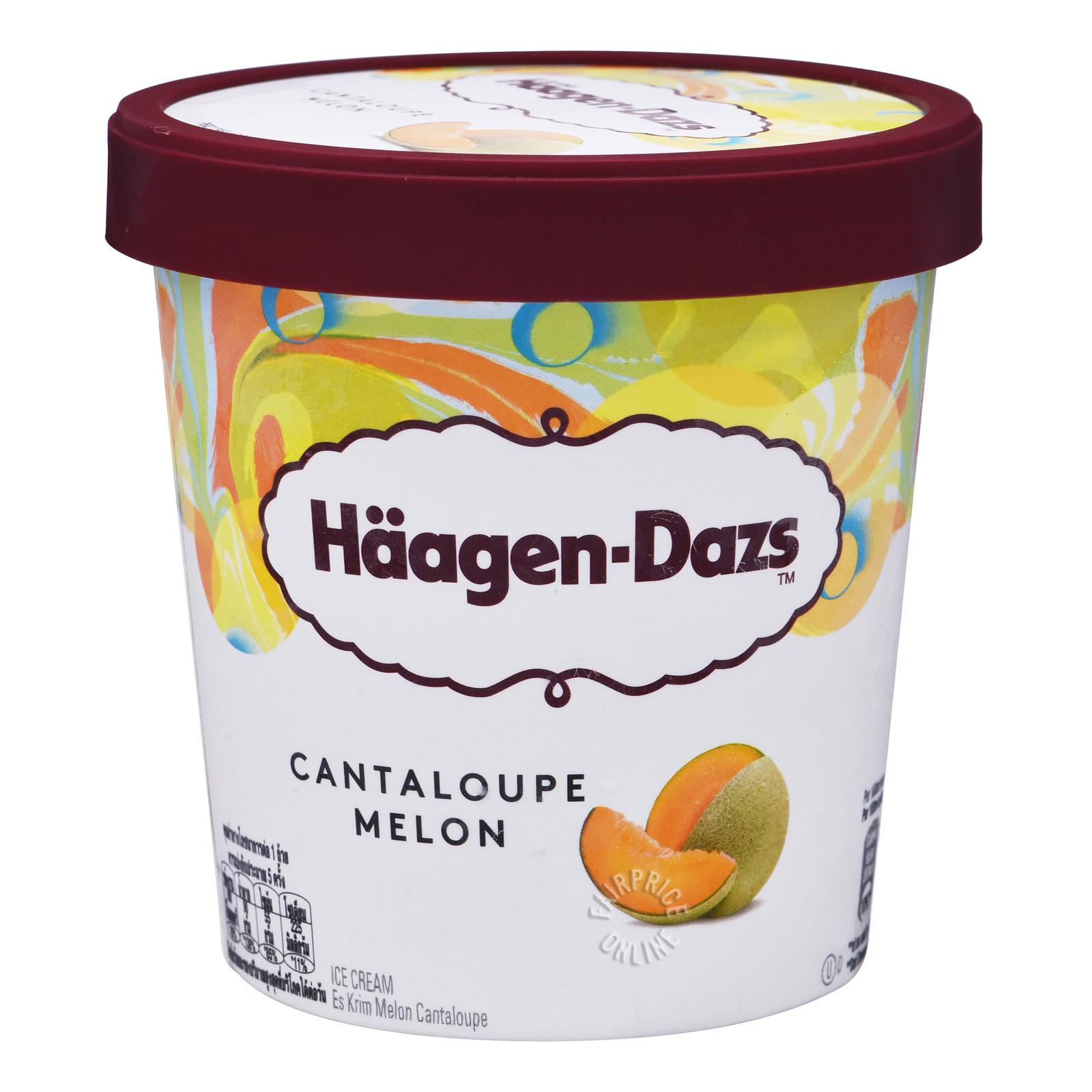 Haagen-Dazs Ice Cream - Cantaloupe Melon