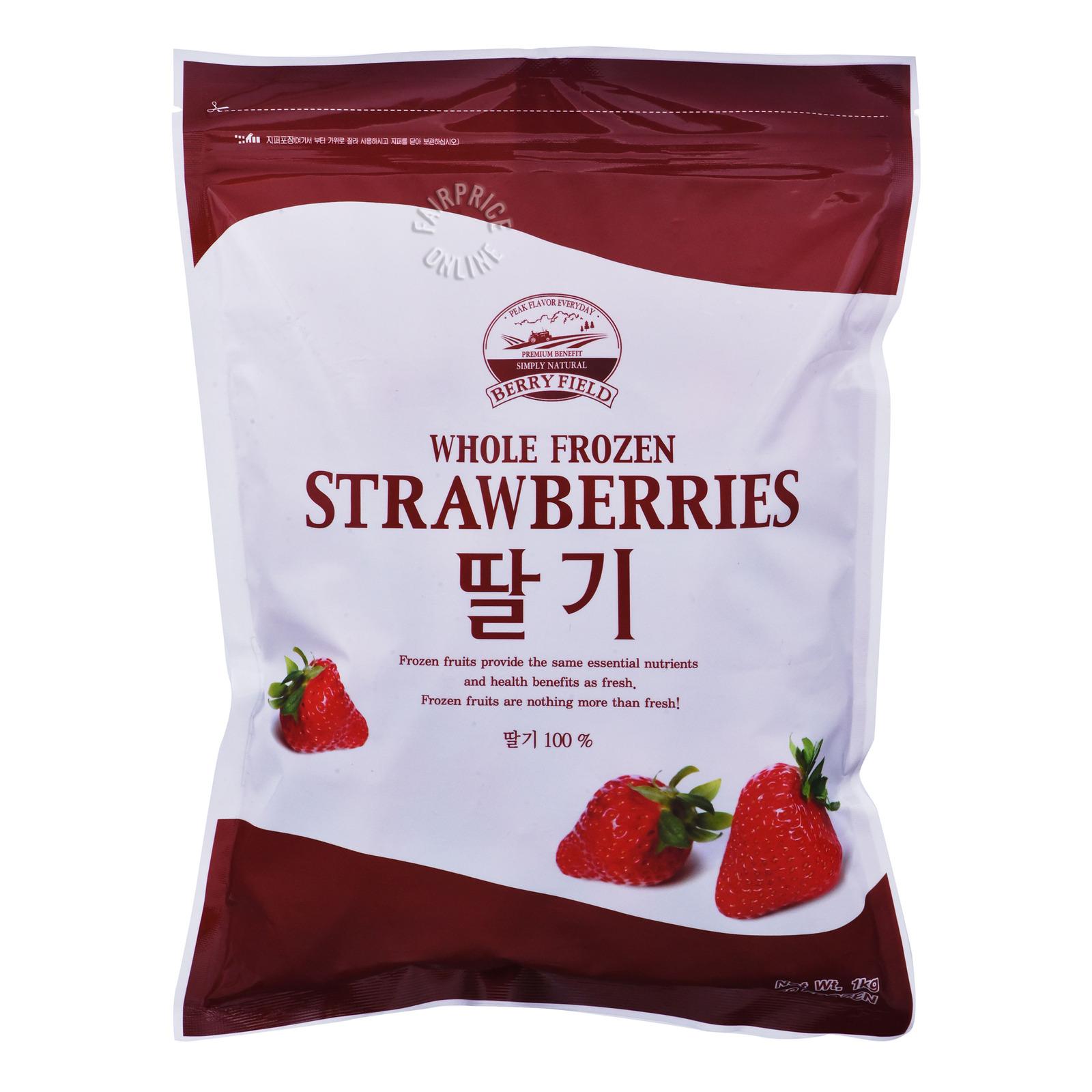 Berryfield Whole Frozen Strawberries