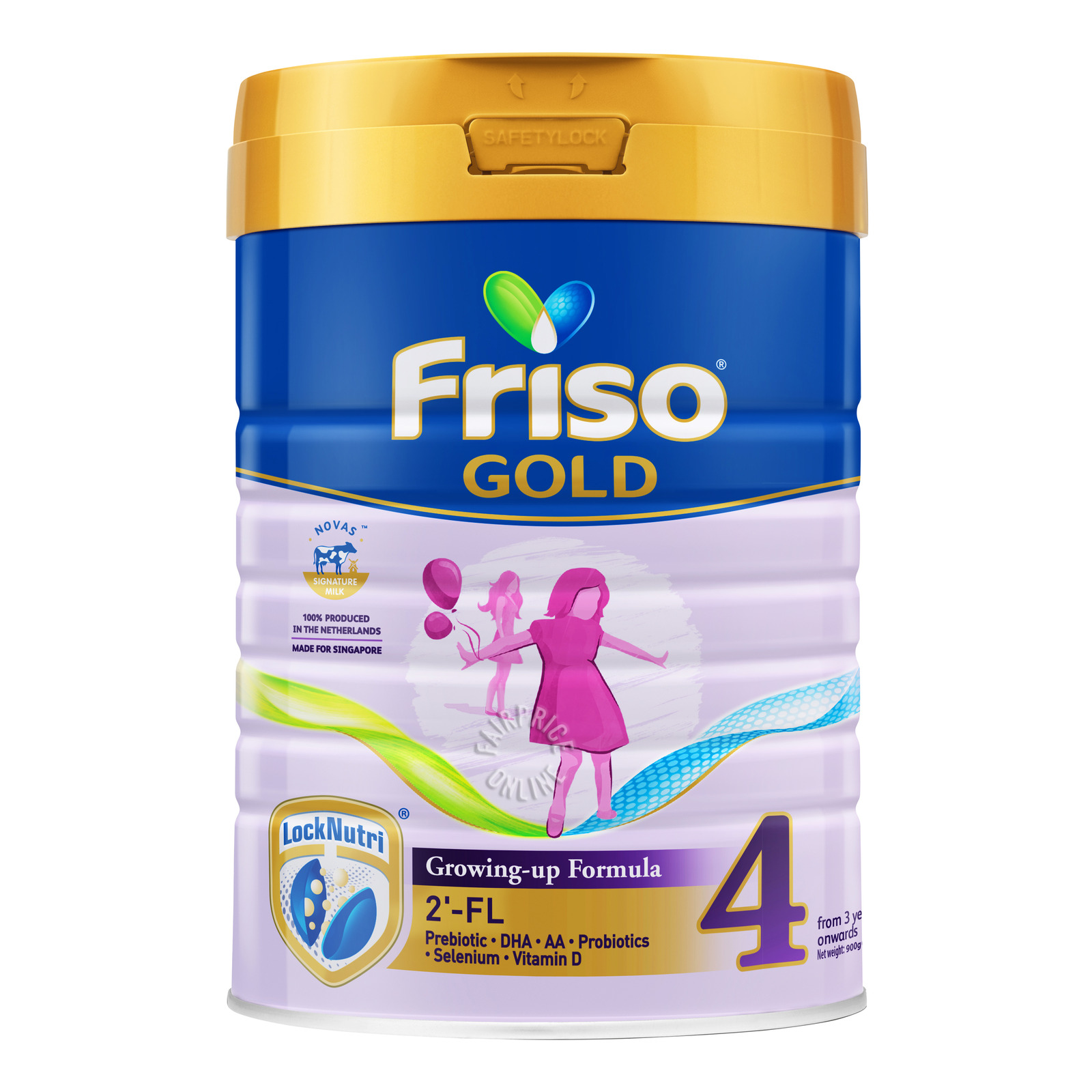 Friso Gold Growing-up Formula - Stage 4