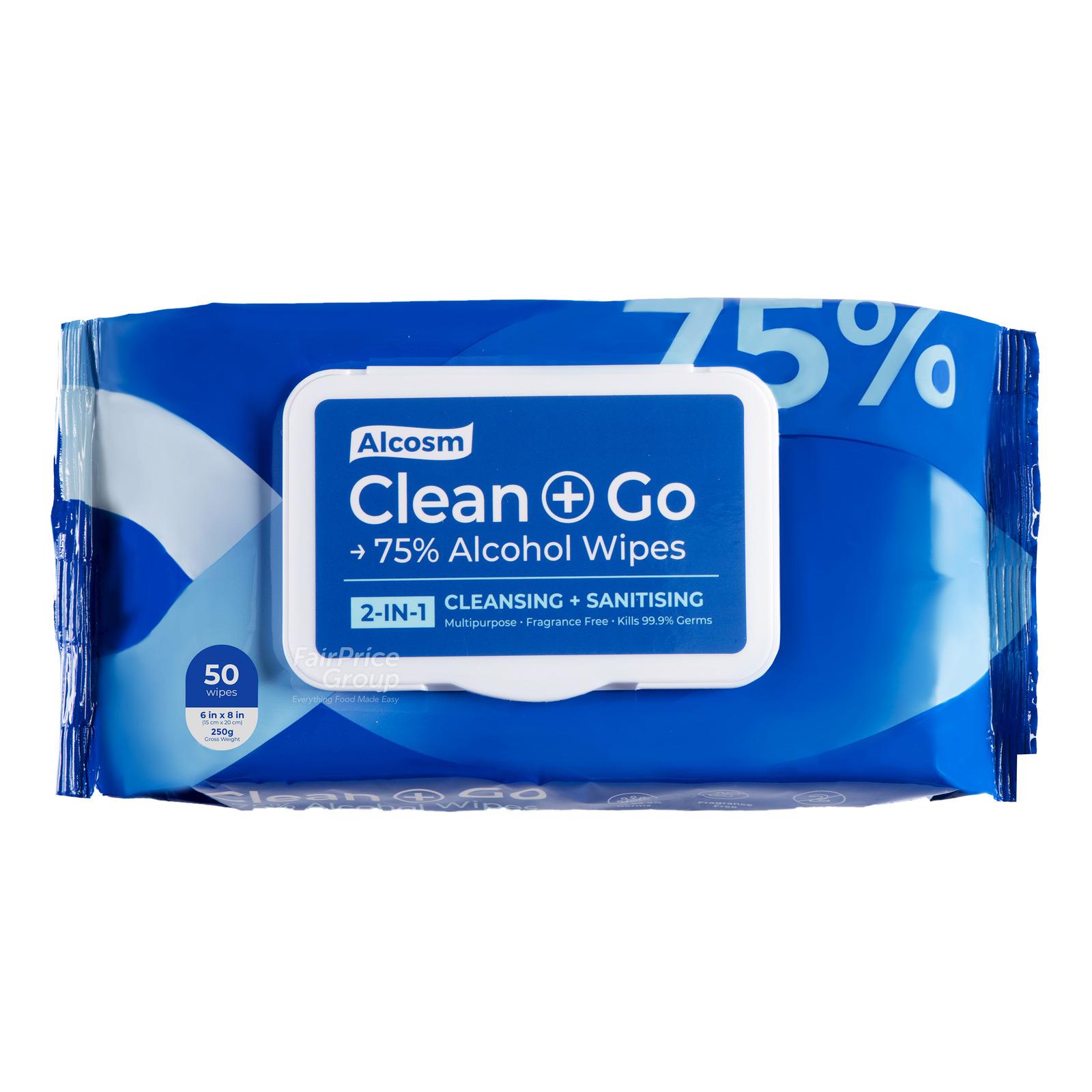 Alcosm Disinfectant Wipes