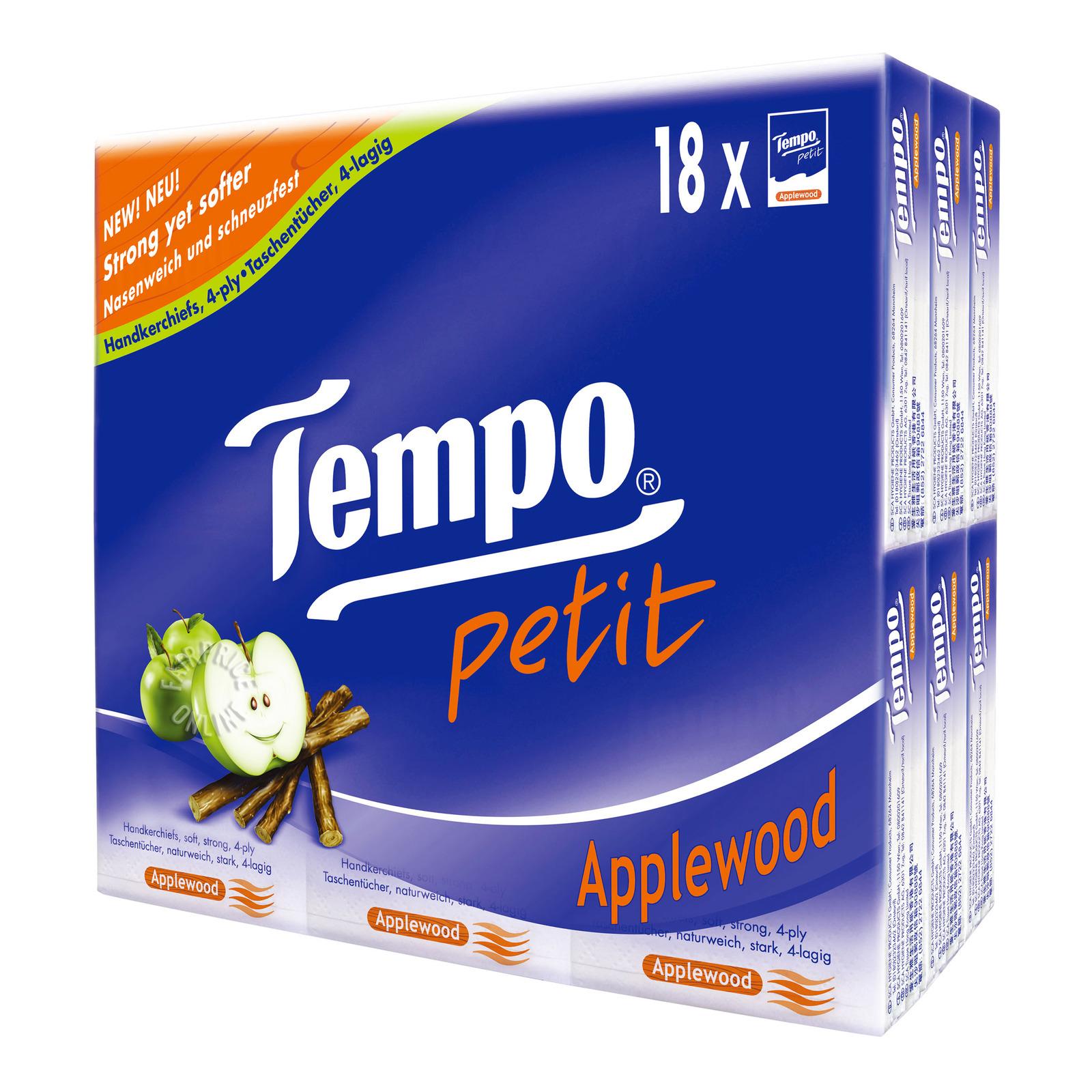Tempo Petit Handkerchief - Applewood