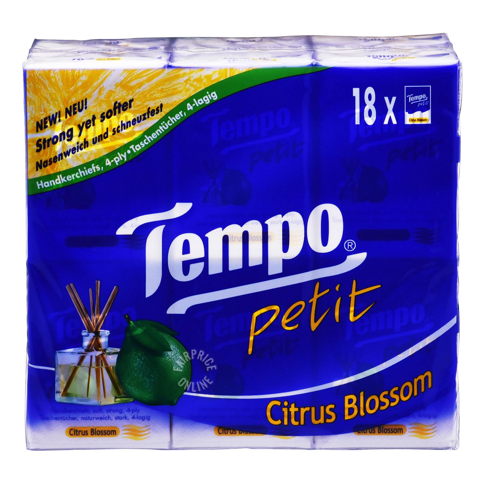 Tempo Petit Handkerchief - Citrus Blossom