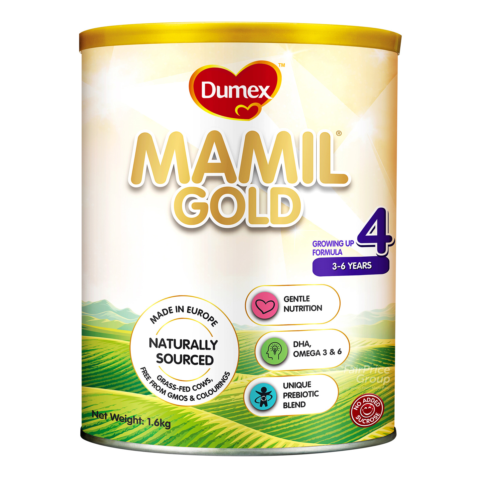 Dumex Mamil Gold Growing Up Milk Formula - Step 4