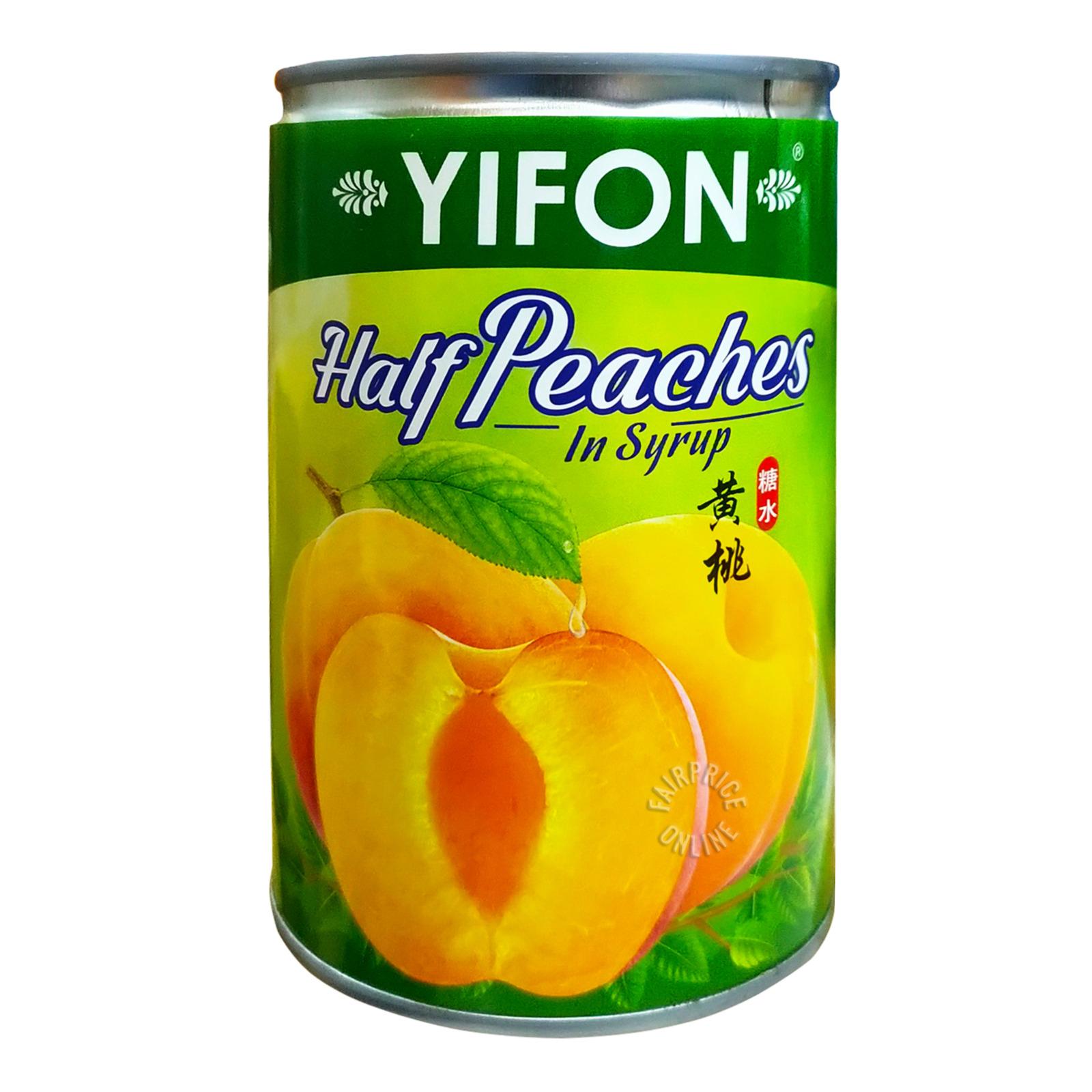 Yifon Half Peaches in Syrup